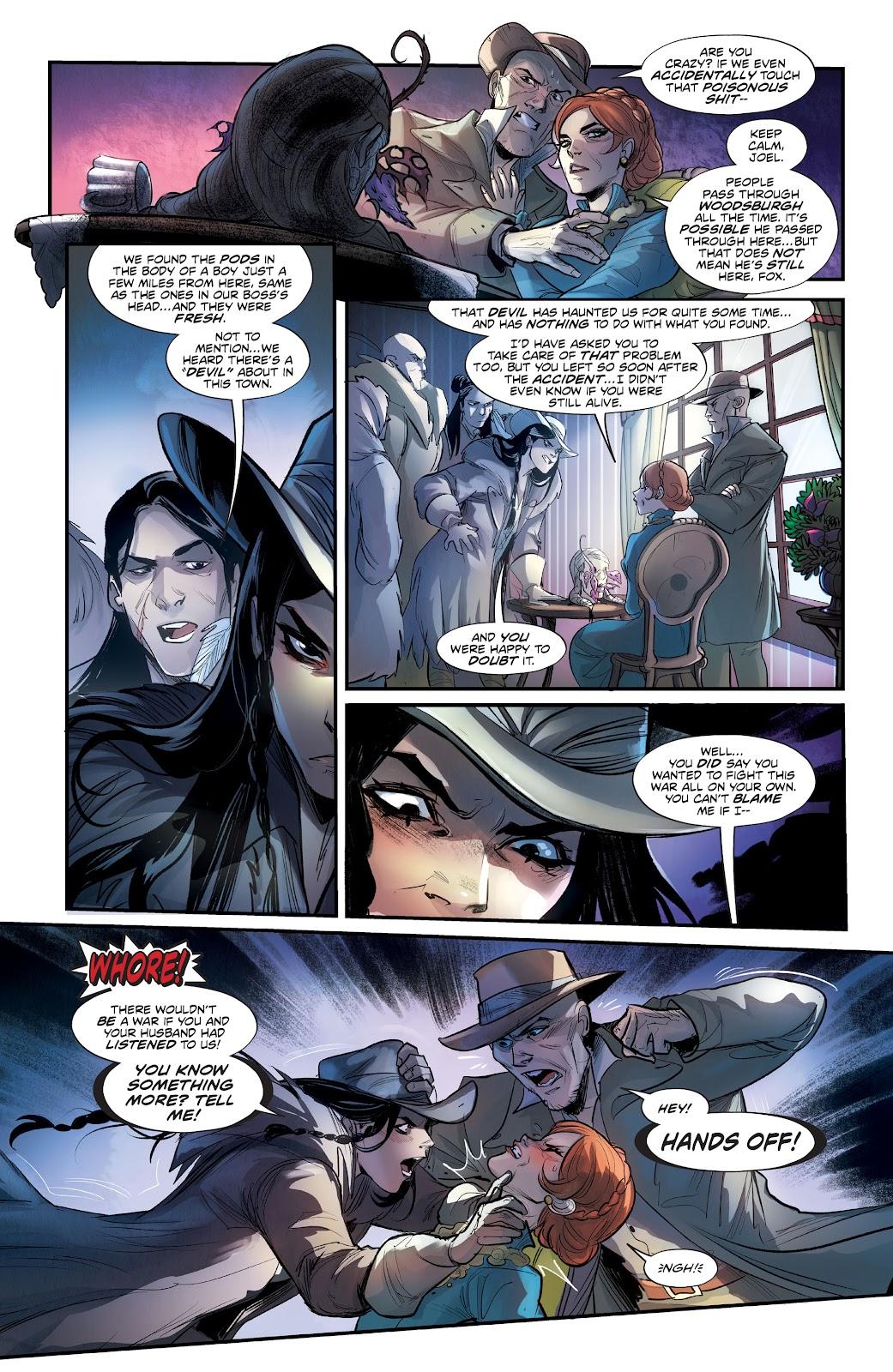 Read online Mirka Andolfo's Mercy comic -  Issue #3 - 12