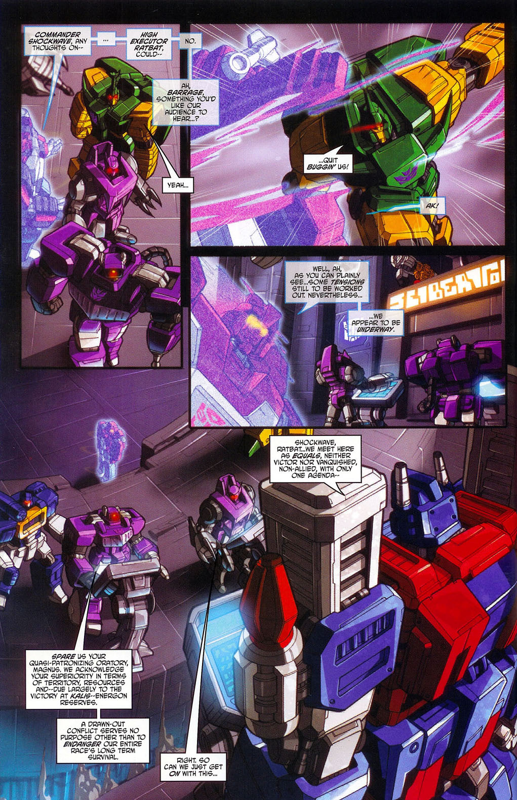 """Read online Transformers War Within: """"The Age of Wrath"""" comic -  Issue #1 - 14"""