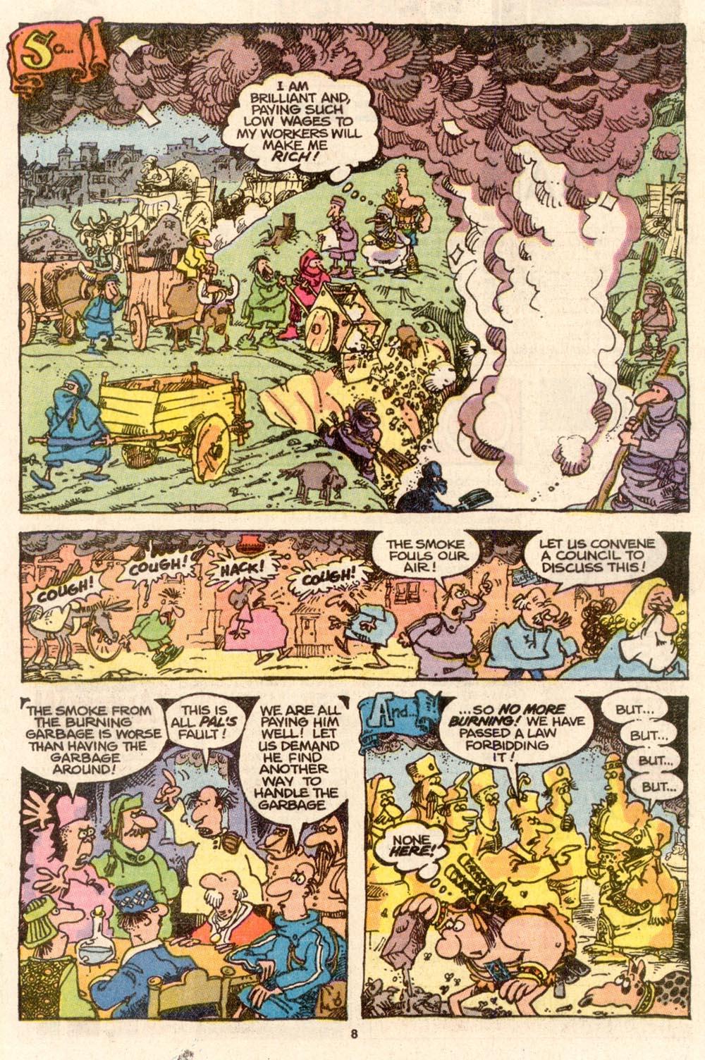 Read online Sergio Aragonés Groo the Wanderer comic -  Issue #65 - 8