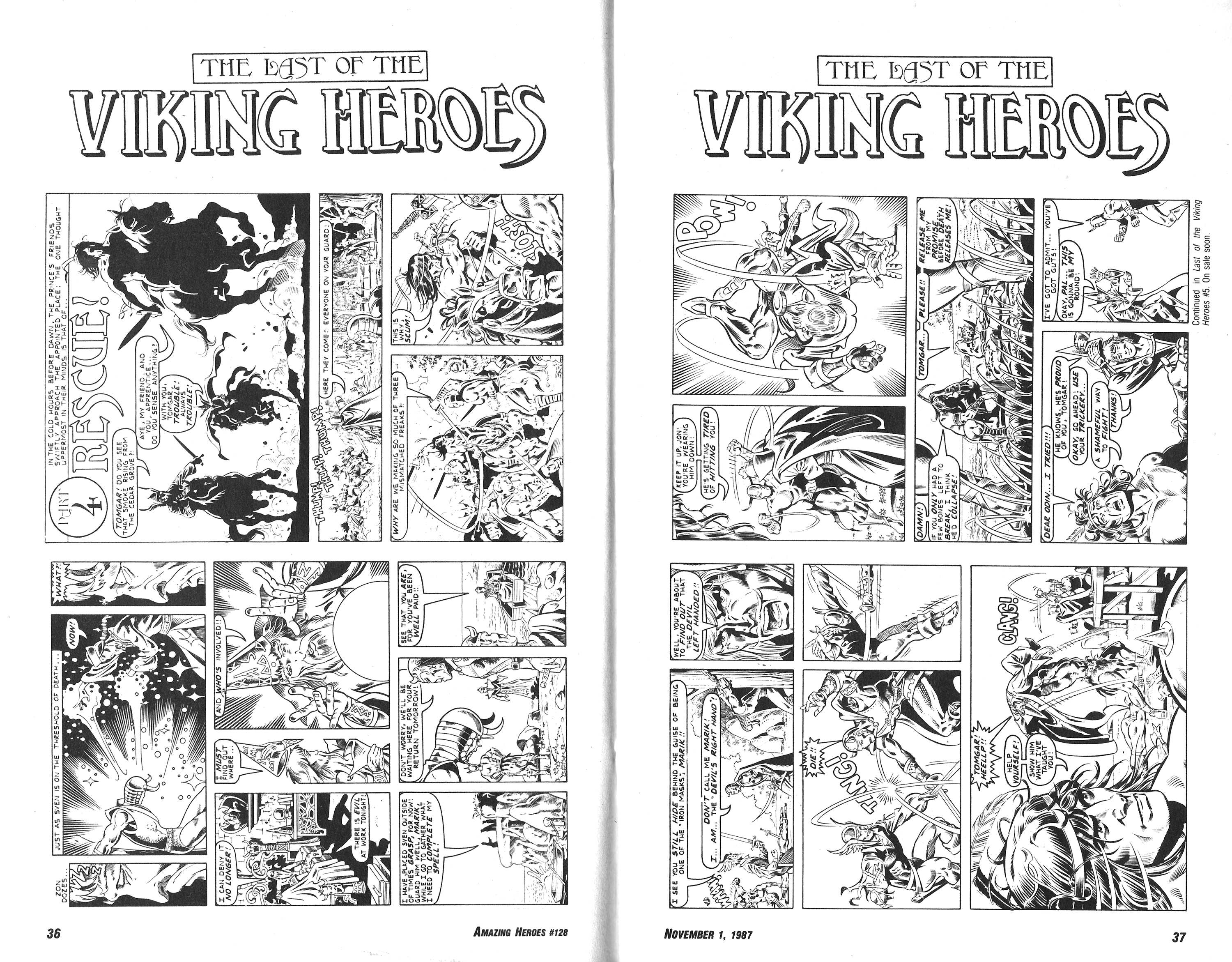 Read online Amazing Heroes comic -  Issue #128 - 19