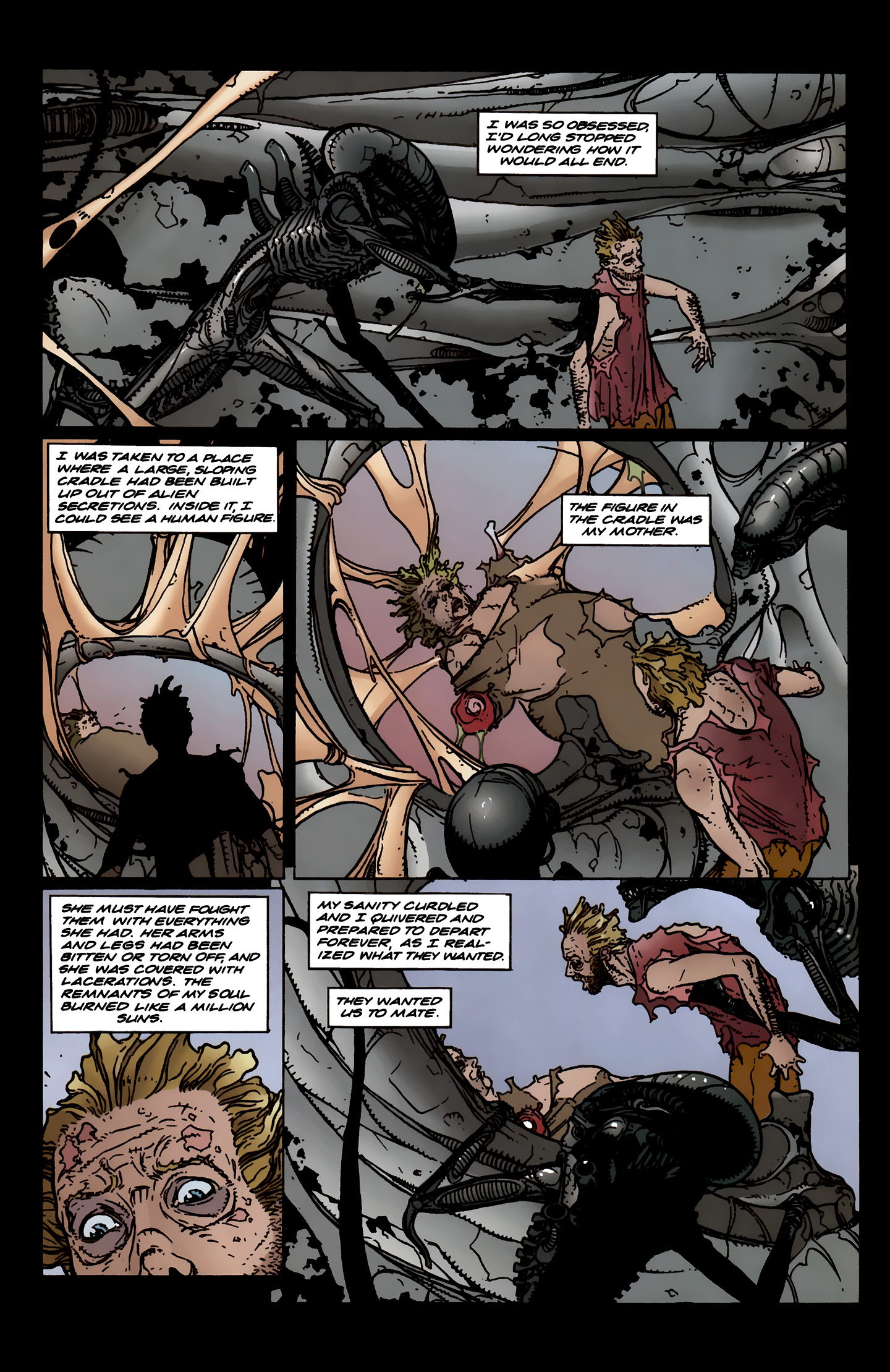 Read online Aliens: Labyrinth comic -  Issue #3 - 24