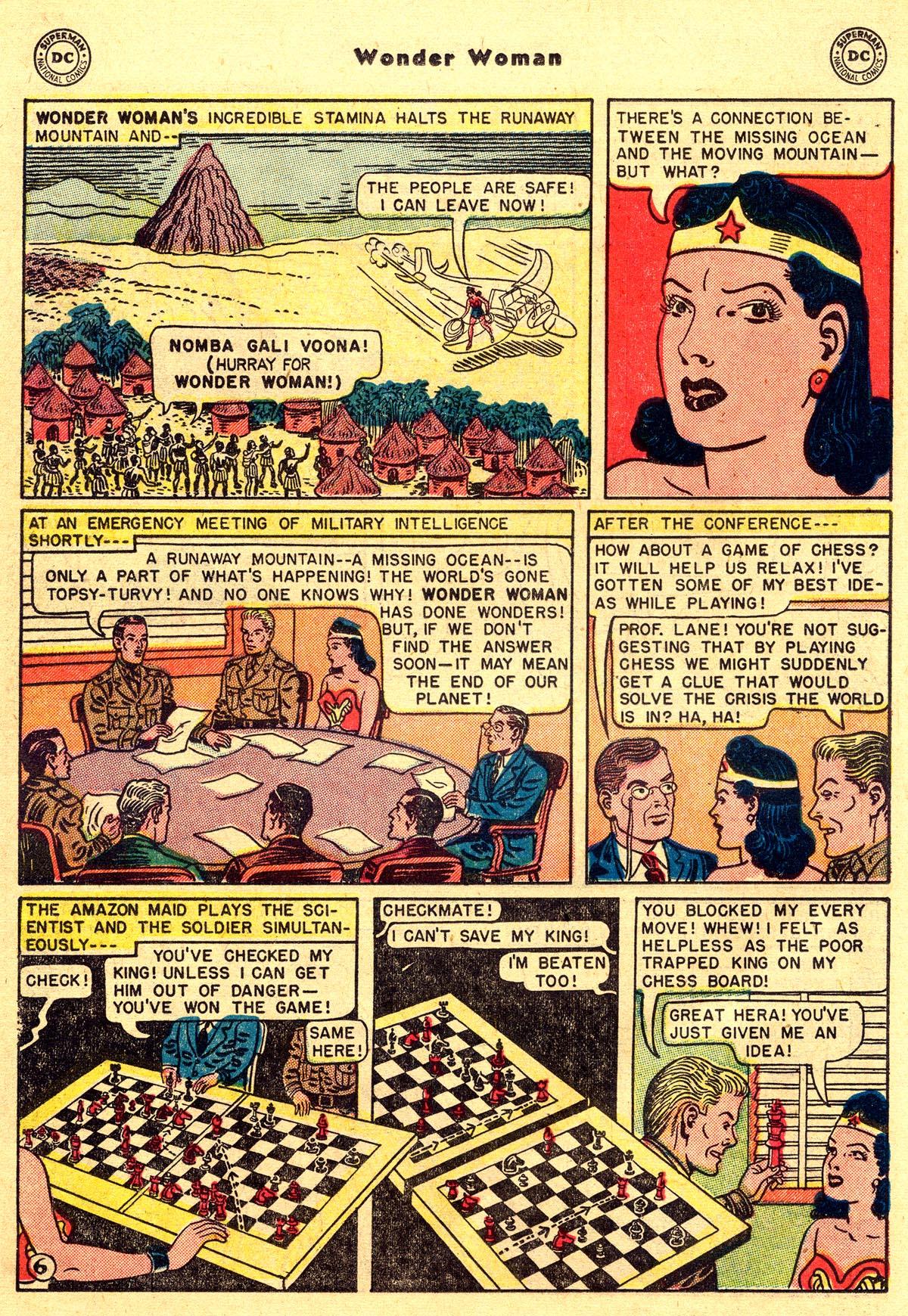 Read online Wonder Woman (1942) comic -  Issue #55 - 20