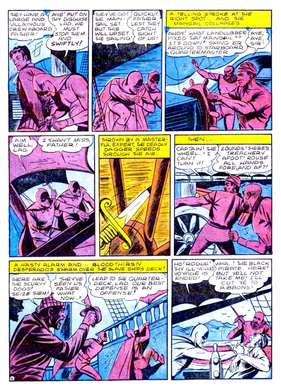 Read online Sensation (Mystery) Comics comic -  Issue #29 - 22
