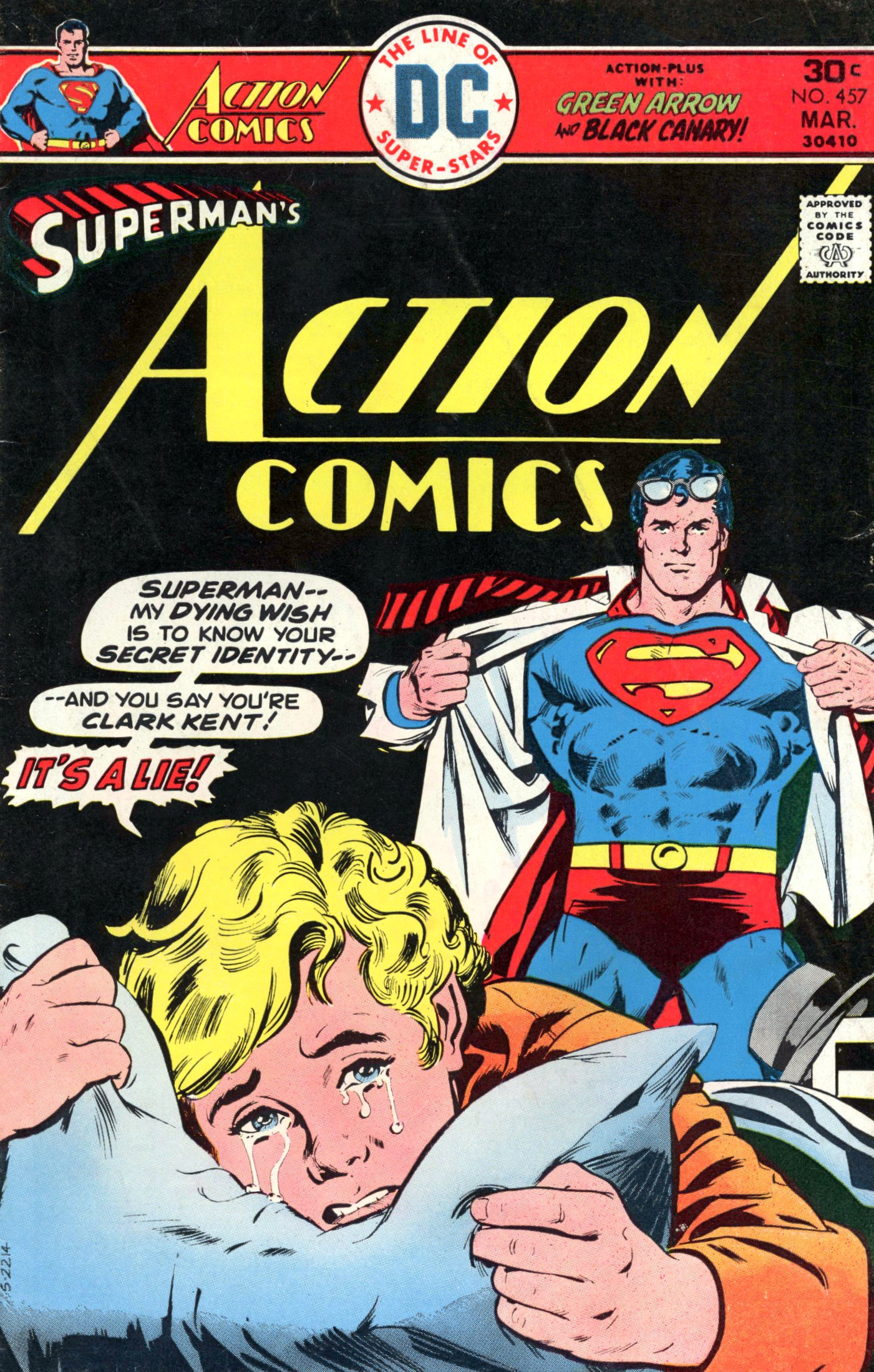 Read online Action Comics (1938) comic -  Issue #457 - 1