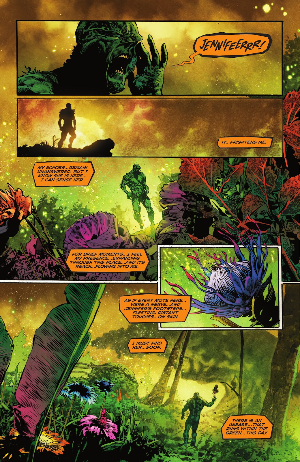 The Swamp Thing issue 3 - Page 7