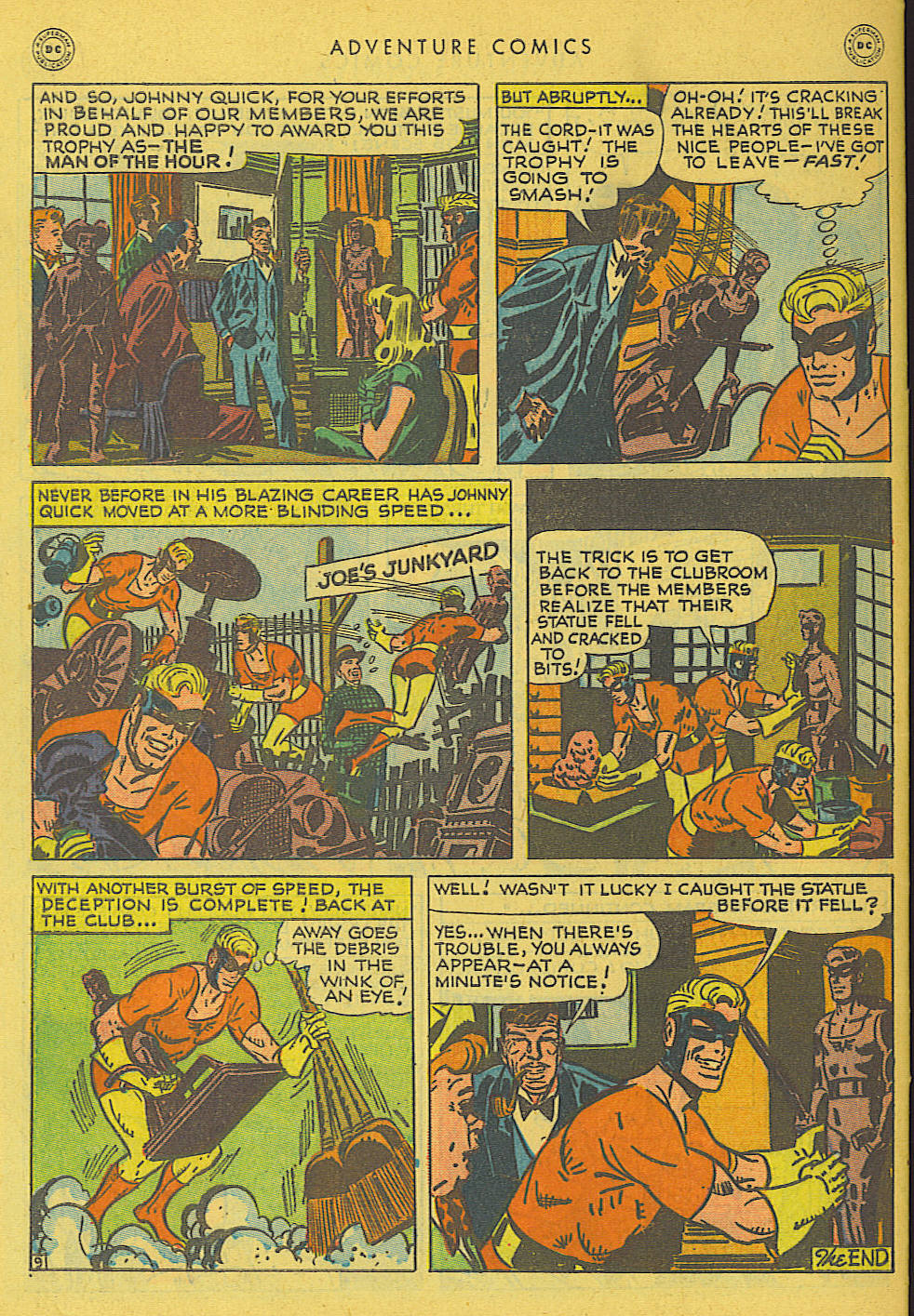 Read online Adventure Comics (1938) comic -  Issue #131 - 41