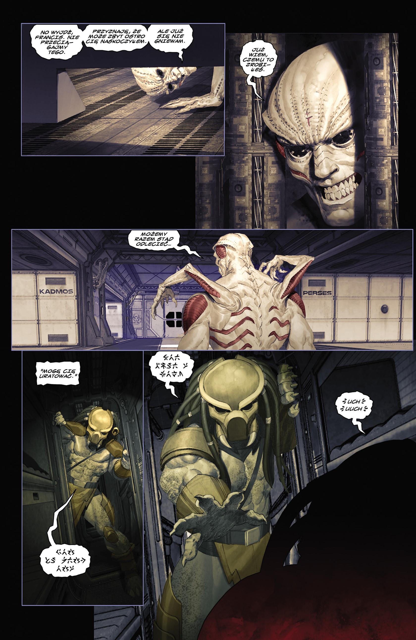 Read online Alien vs. Predator: Fire and Stone comic -  Issue #2 - 16