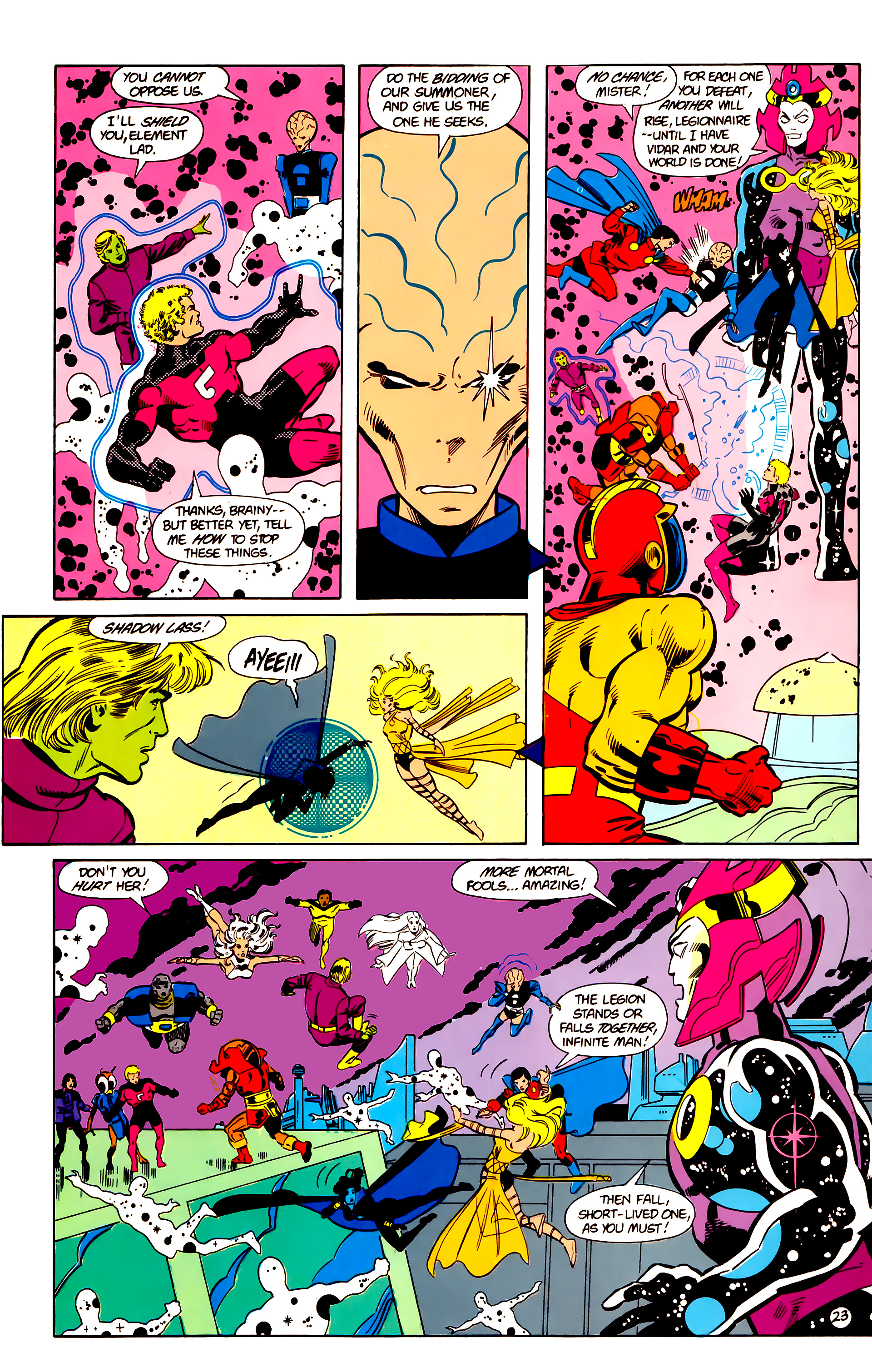 Legion of Super-Heroes (1984) 18 Page 23