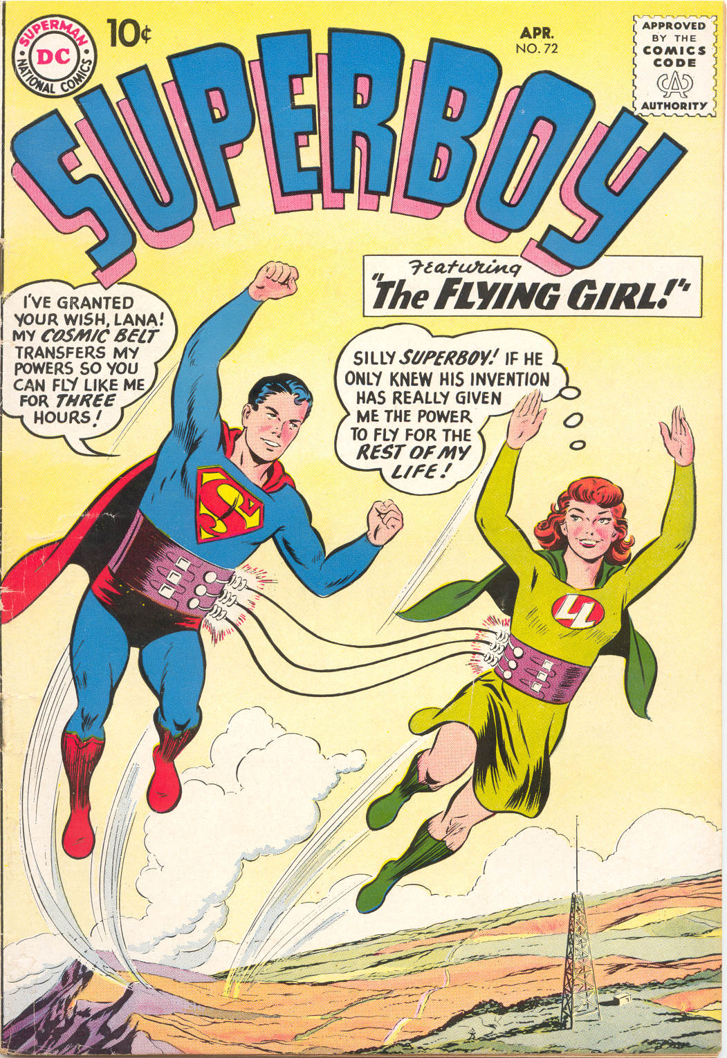 Superboy (1949) issue 72 - Page 1