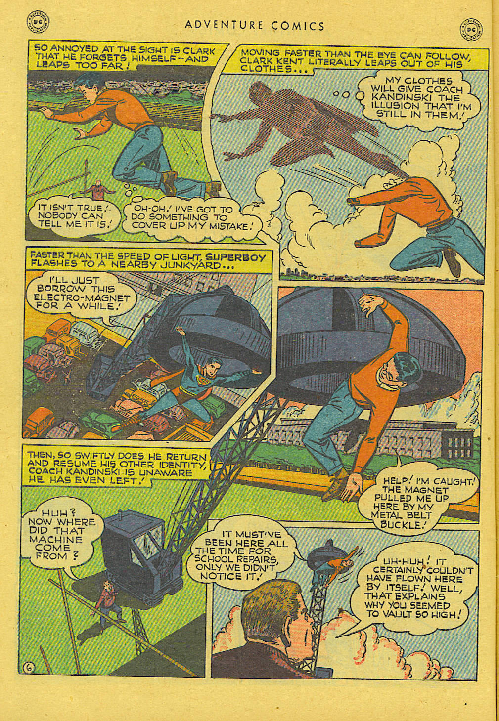 Read online Adventure Comics (1938) comic -  Issue #131 - 7