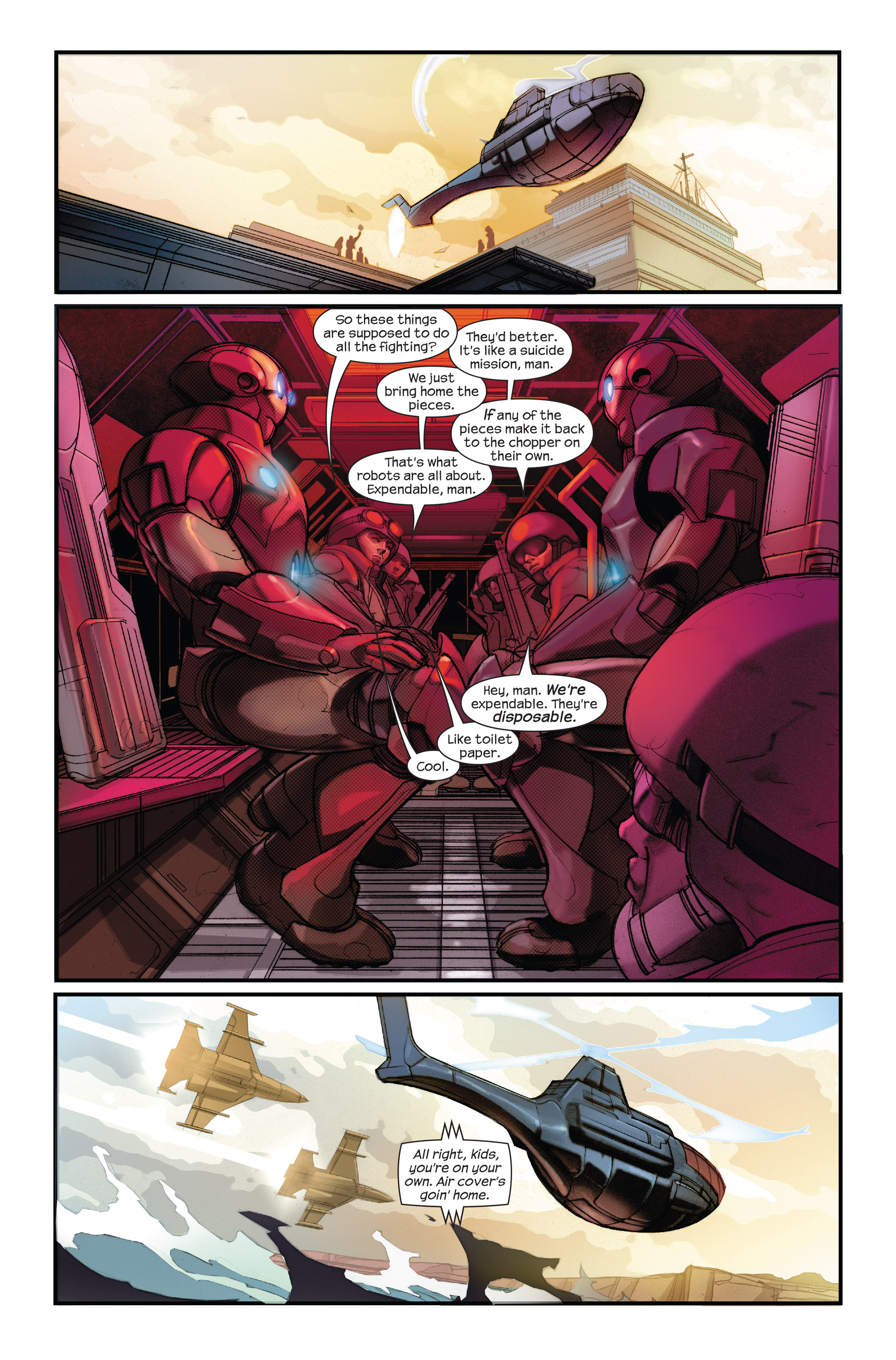 Read online Ultimate Iron Man II comic -  Issue #1 - 19