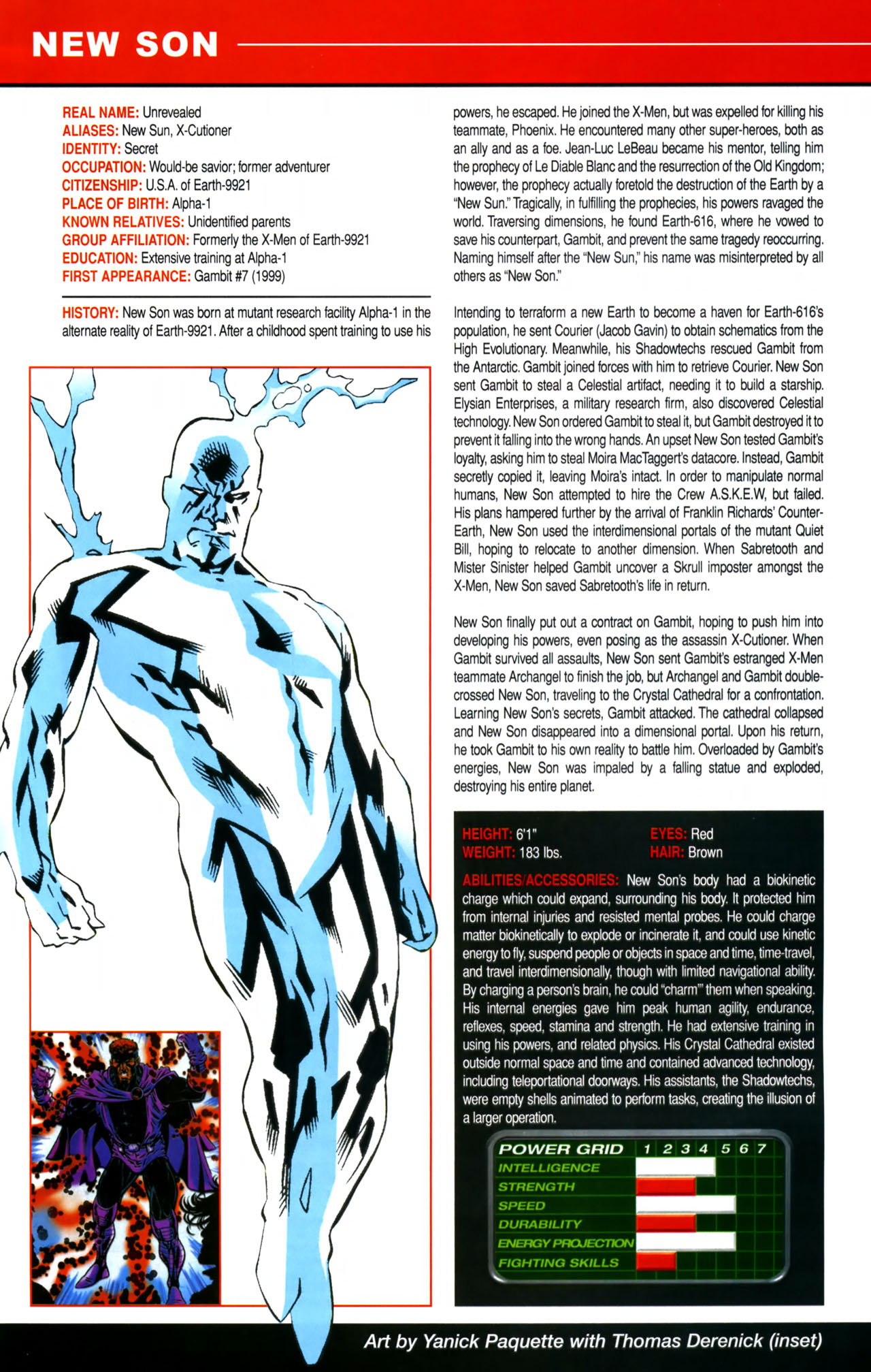 Read online All-New Official Handbook of the Marvel Universe A to Z comic -  Issue #8 - 8