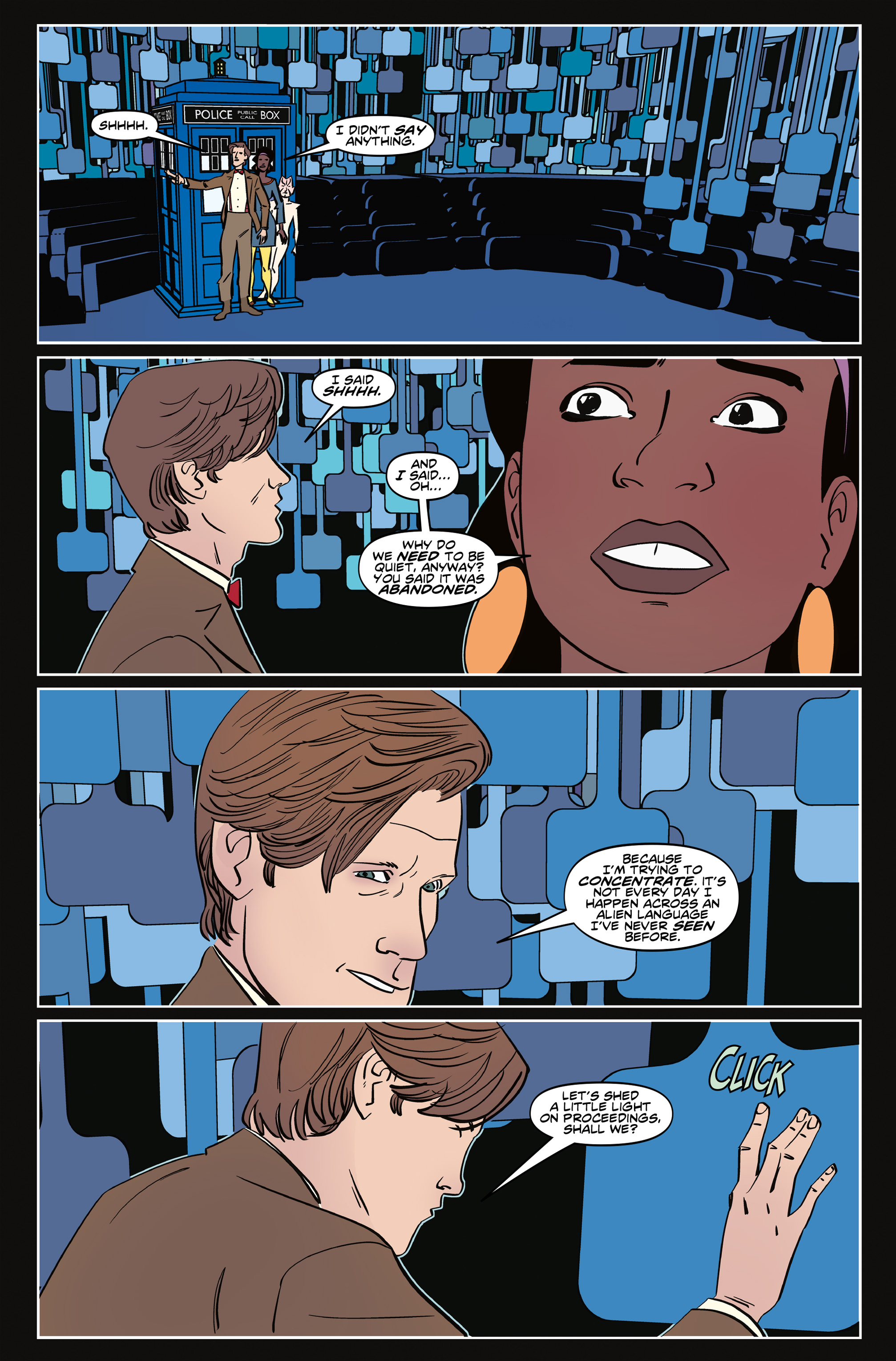 Read online Doctor Who: The Eleventh Doctor Year Three comic -  Issue #6 - 9