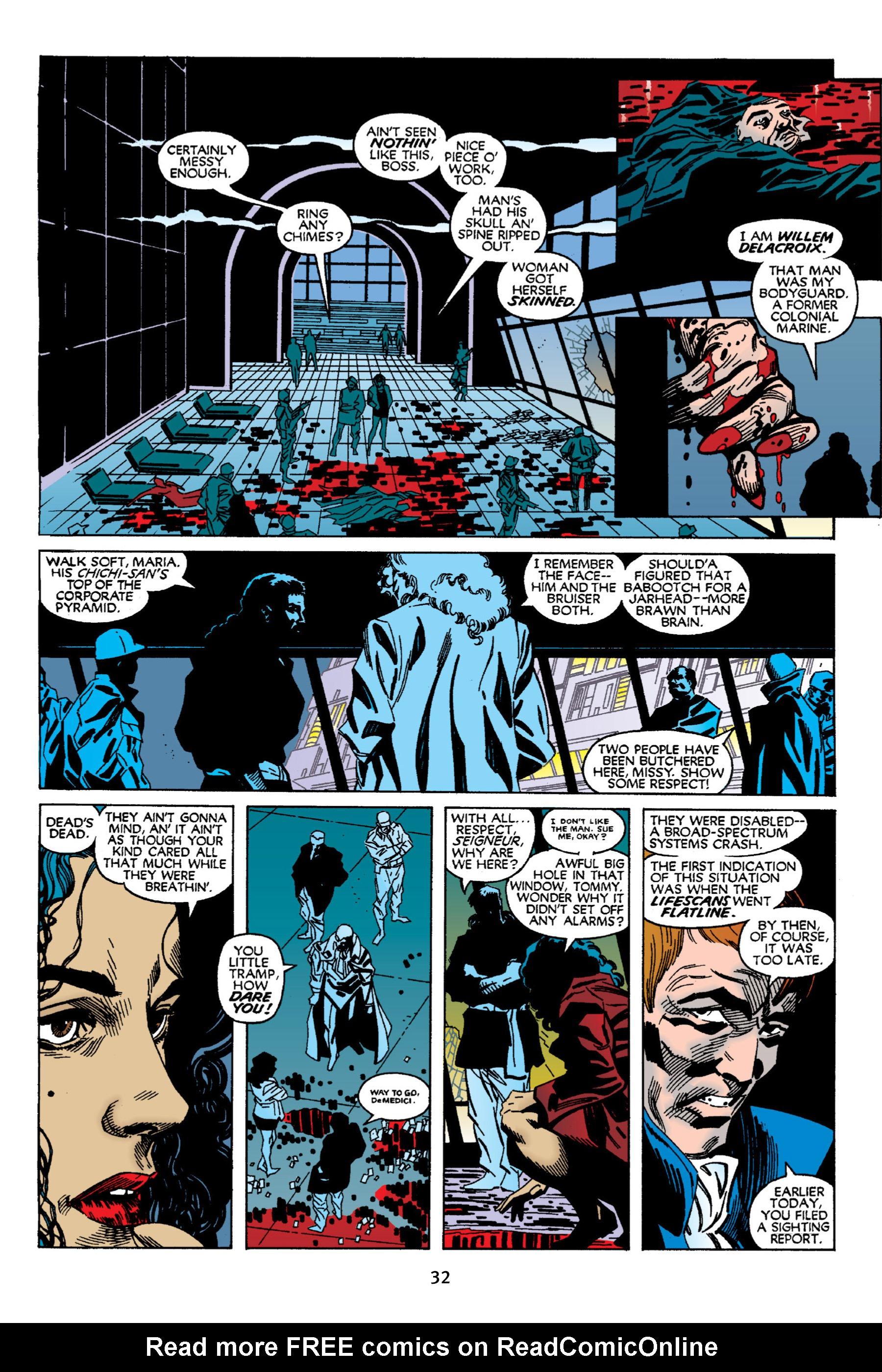 Read online Aliens vs. Predator Omnibus comic -  Issue # _TPB 2 Part 1 - 32