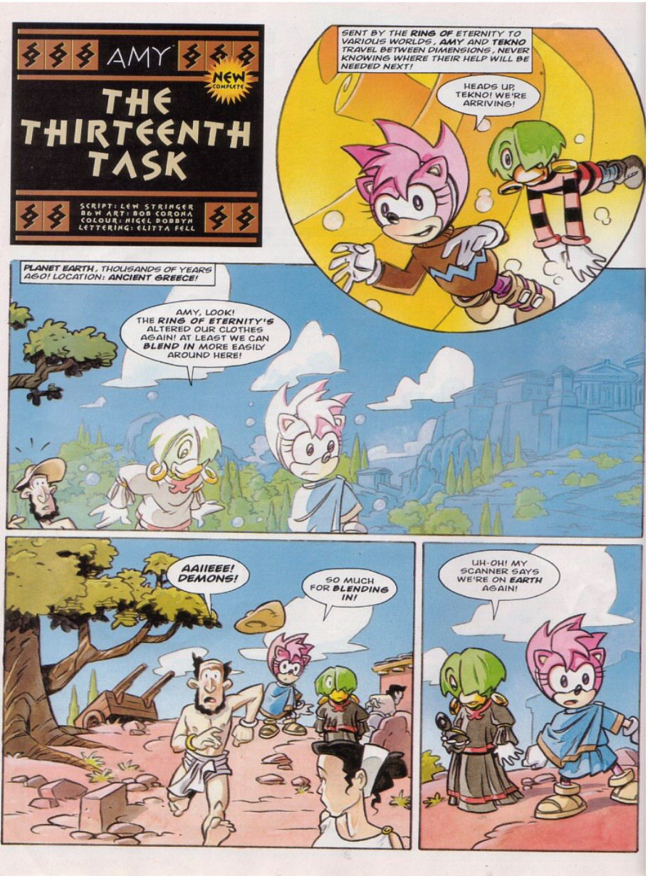 Read online Sonic the Comic comic -  Issue #149 - 9