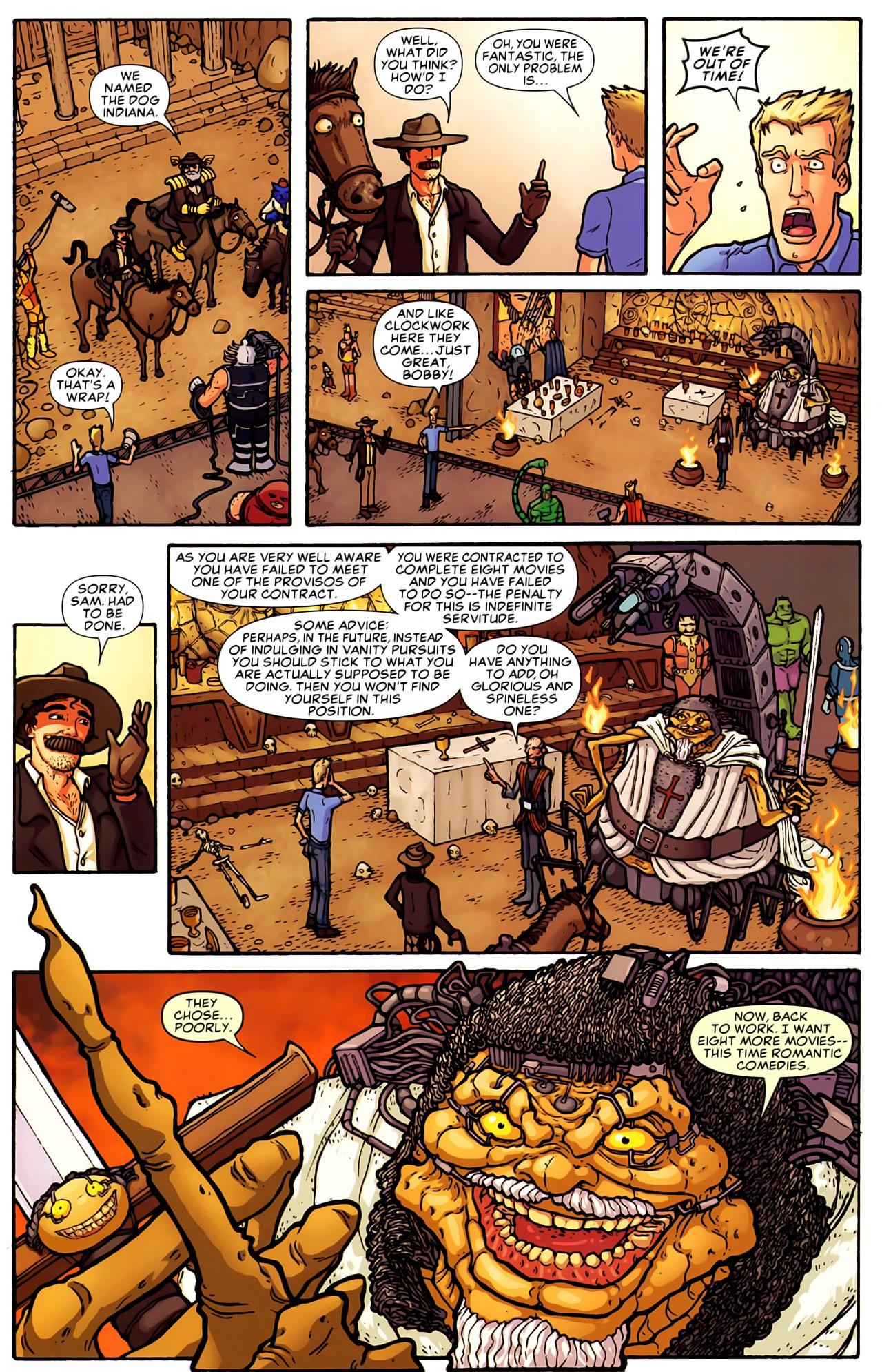 Read online Astonishing Tales (2009) comic -  Issue #6 - 31