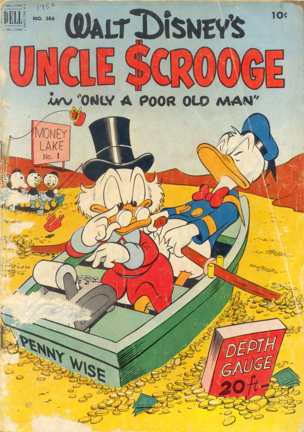 Read online Uncle Scrooge (1953) comic -  Issue #1 - 1