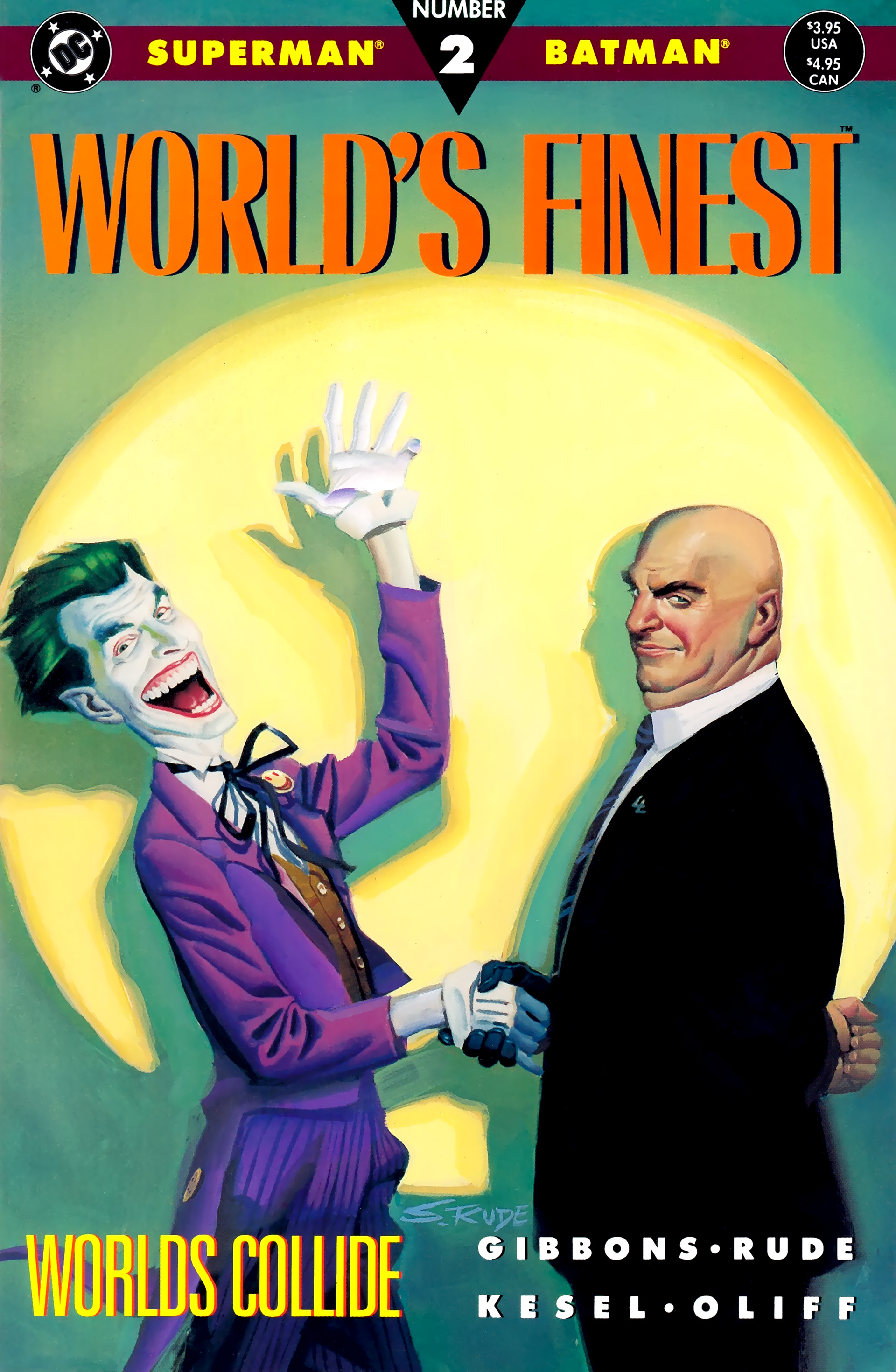Read online World's Finest (1990) comic -  Issue #2 - 1