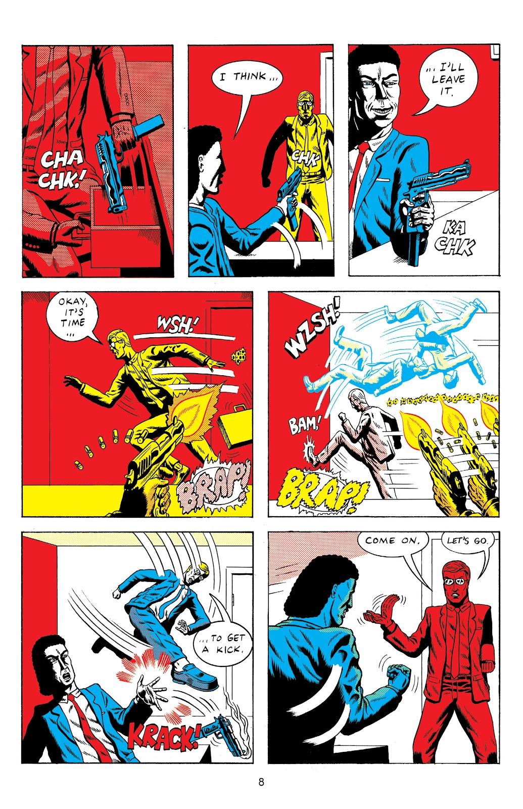 Read online Terror Assaulter: O.M.W.O.T (One Man War On Terror) comic -  Issue # TPB - 9