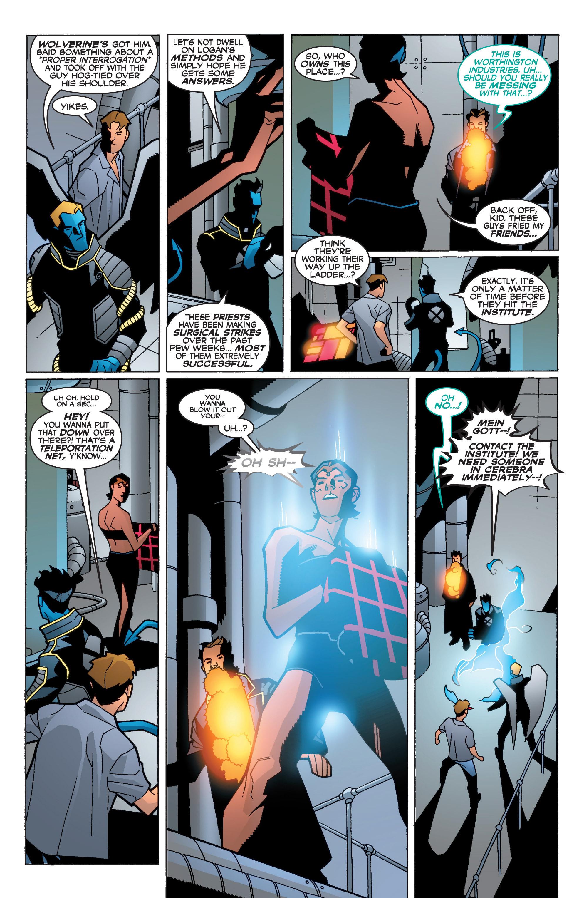 Read online Uncanny X-Men (1963) comic -  Issue #400 - 10