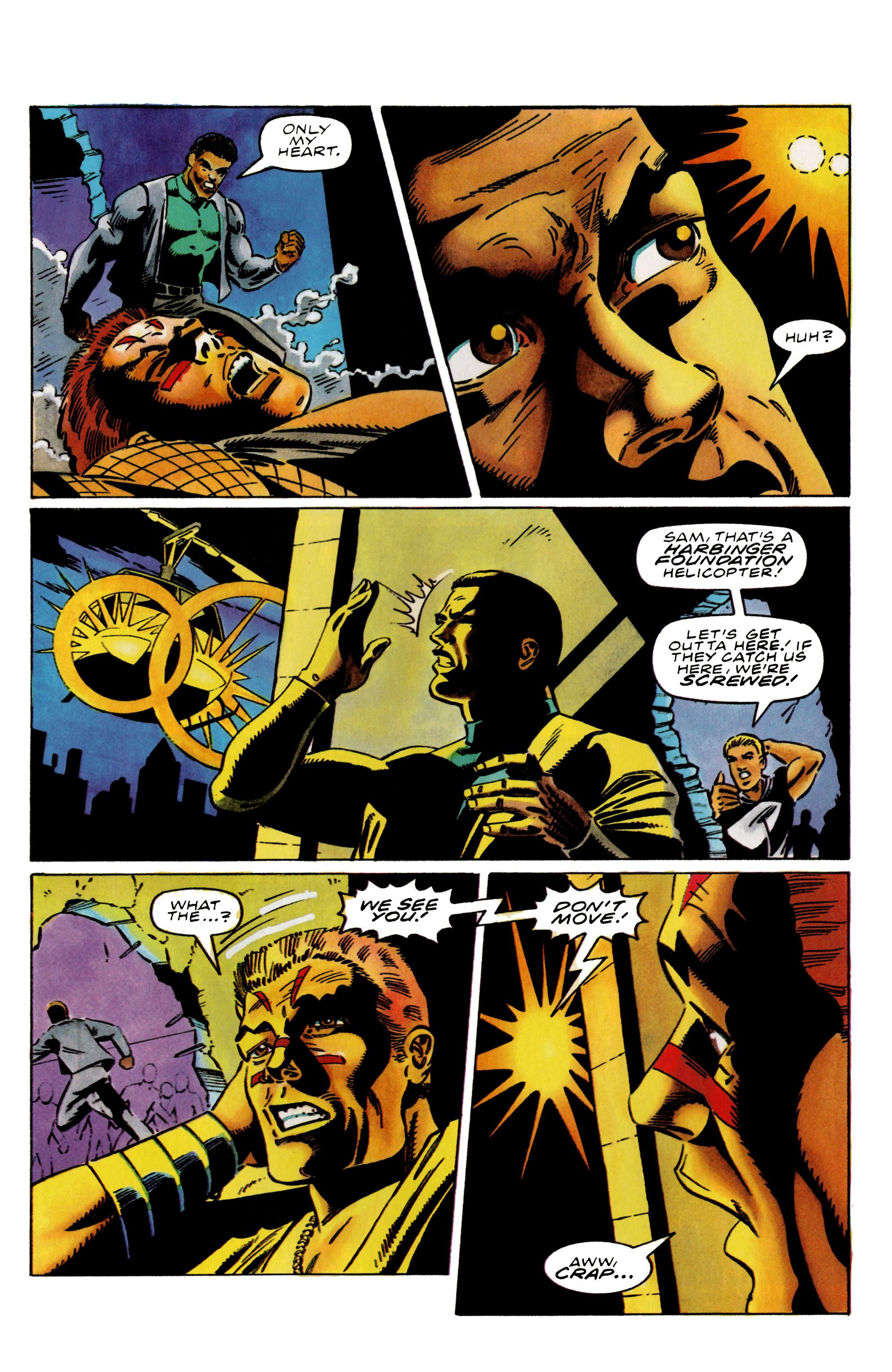 Read online Harbinger (1992) comic -  Issue #38 - 21