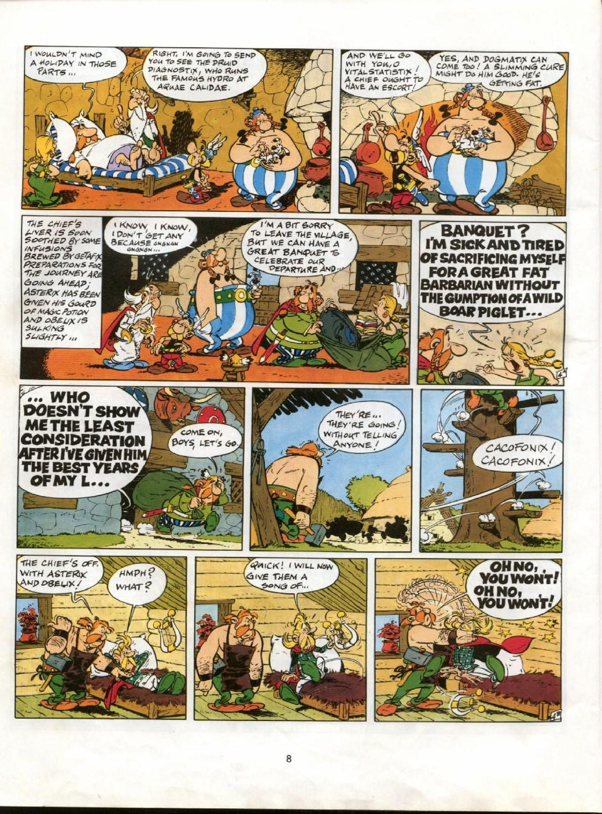 Read online Asterix comic -  Issue #11 - 5