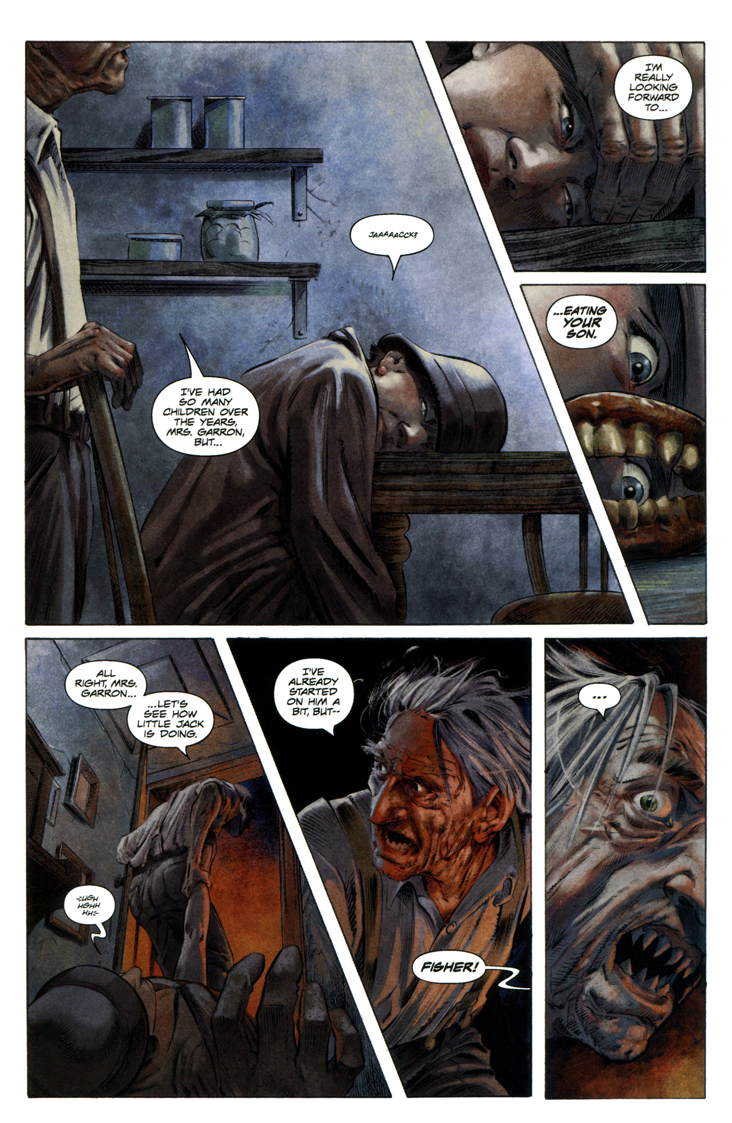 Read online Severed comic -  Issue #7 - 17