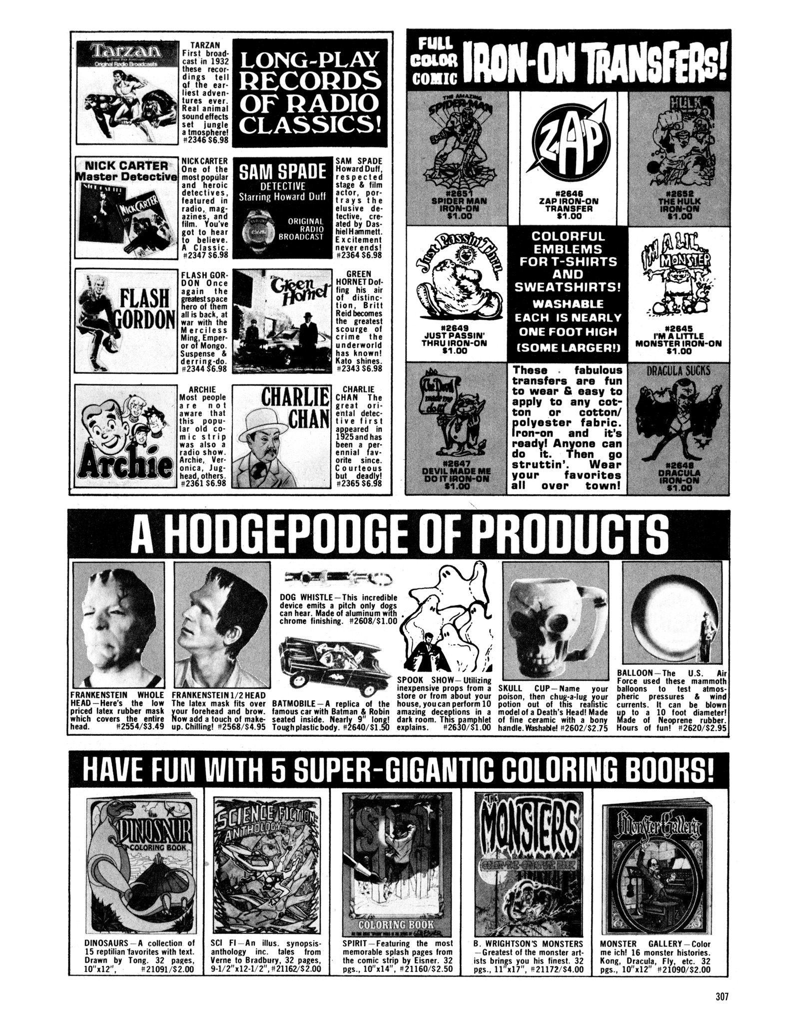 Read online Eerie Archives comic -  Issue # TPB 16 - 308