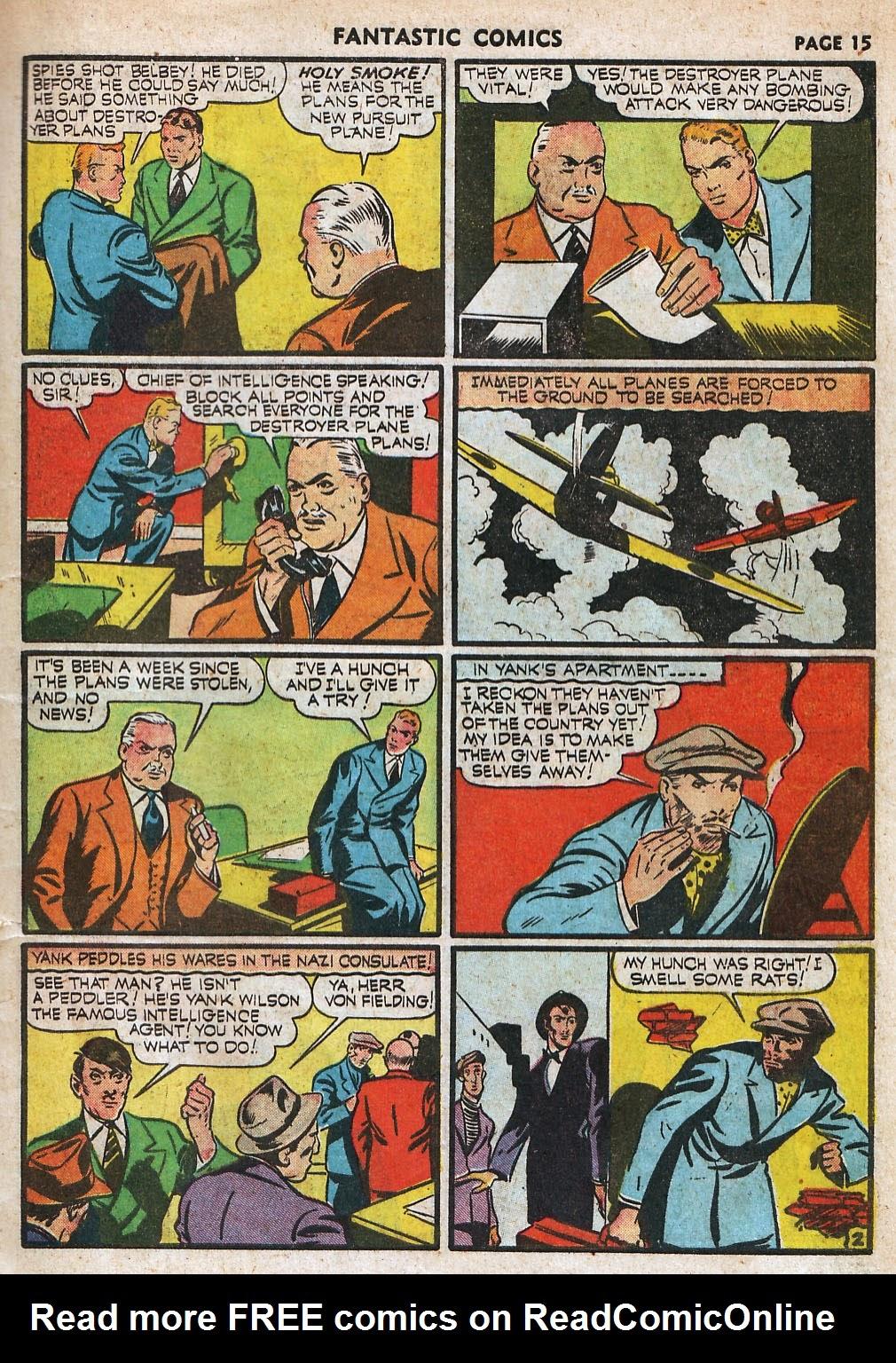 Read online Fantastic Comics comic -  Issue #18 - 17