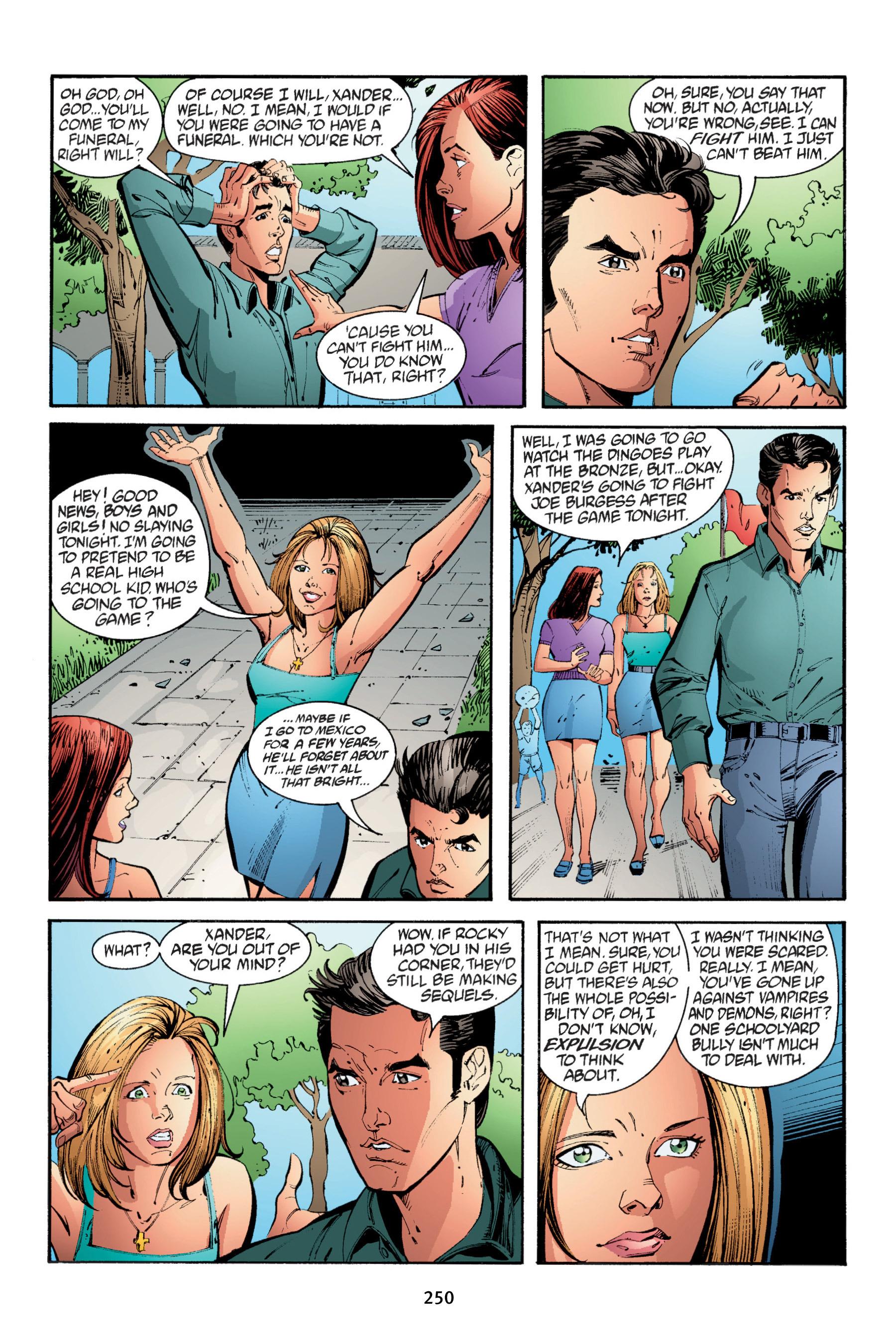 Read online Buffy the Vampire Slayer: Omnibus comic -  Issue # TPB 4 - 248