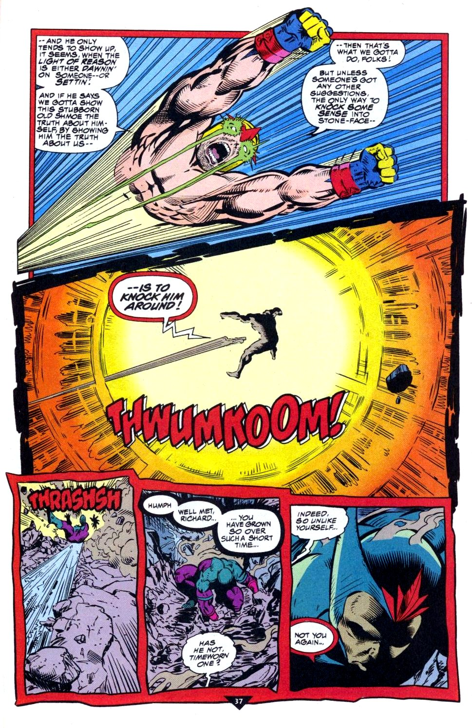 The New Warriors Issue #50 #54 - English 30
