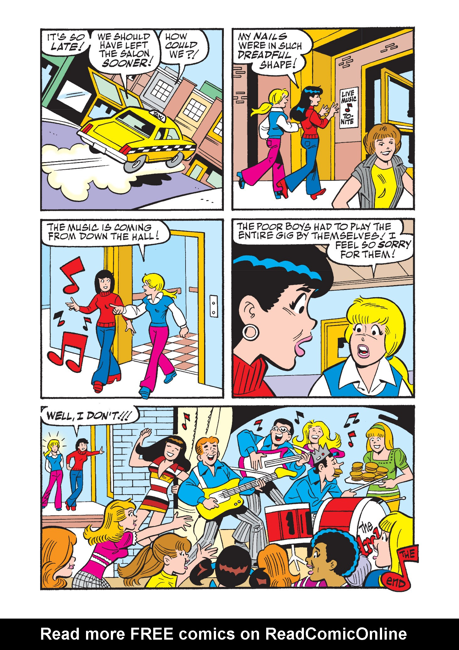 Read online Archie's Funhouse Double Digest comic -  Issue #9 - 93