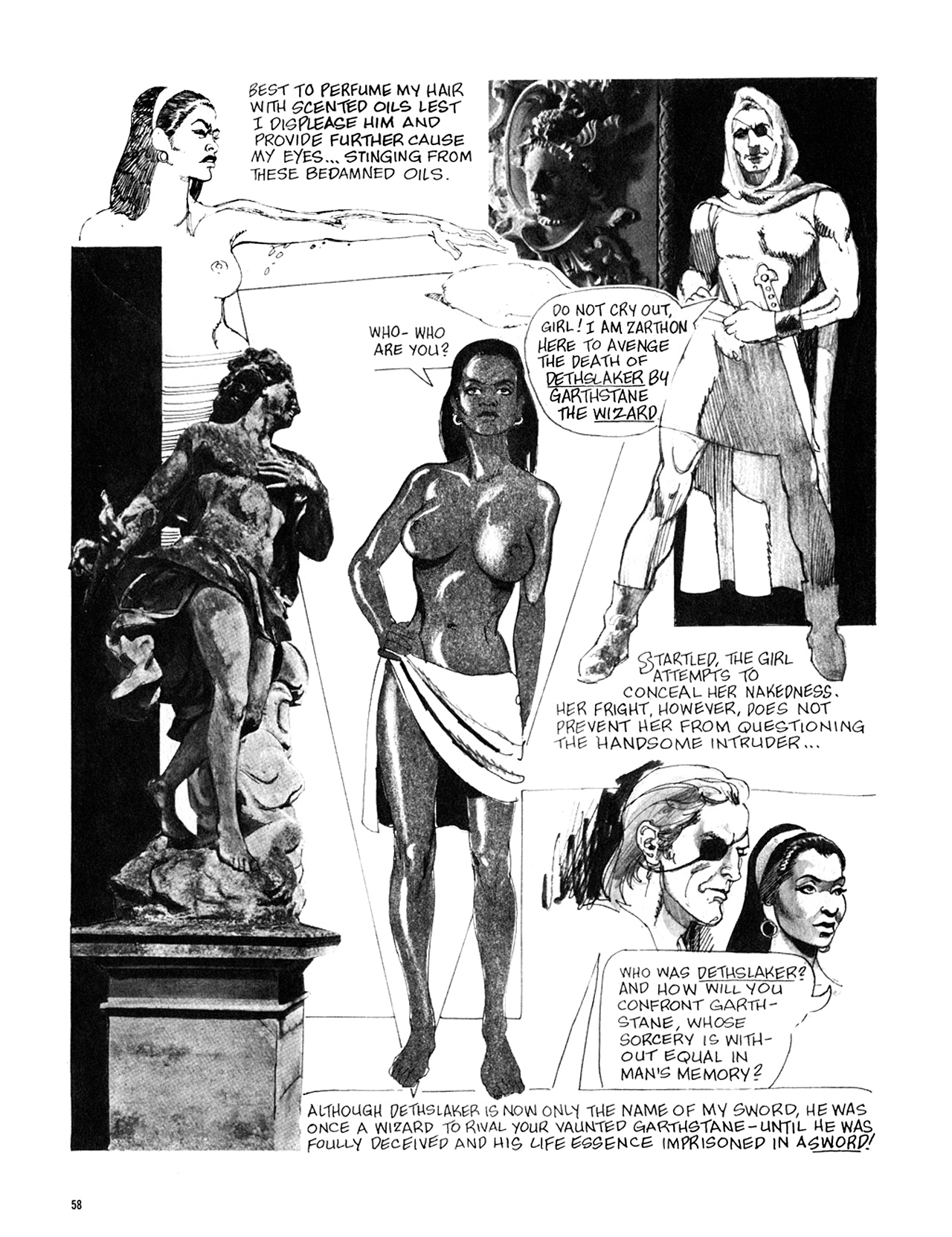 Read online Eerie Archives comic -  Issue # TPB 8 - 59