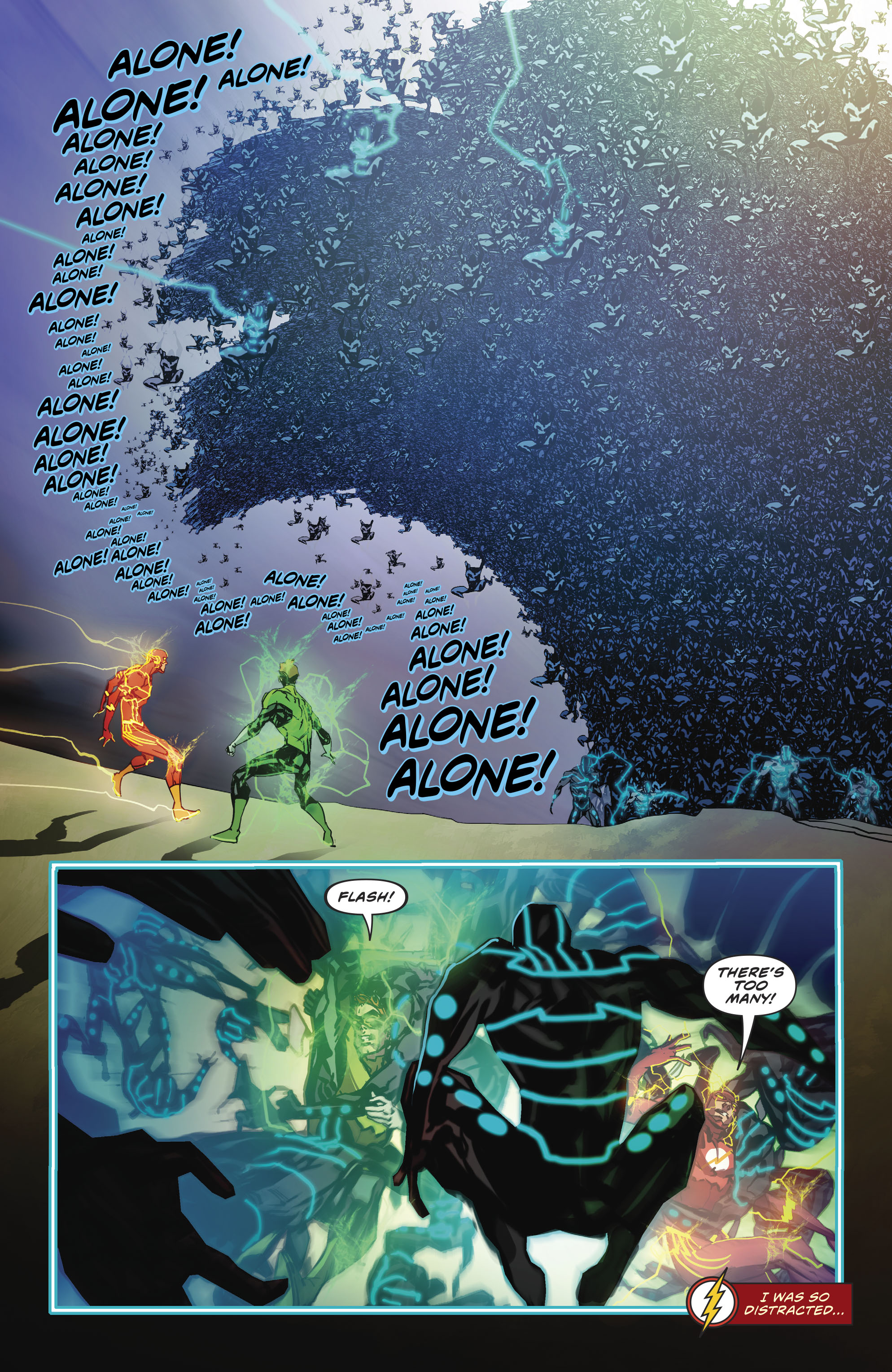 Read online The Flash (2016) comic -  Issue #23 - 21