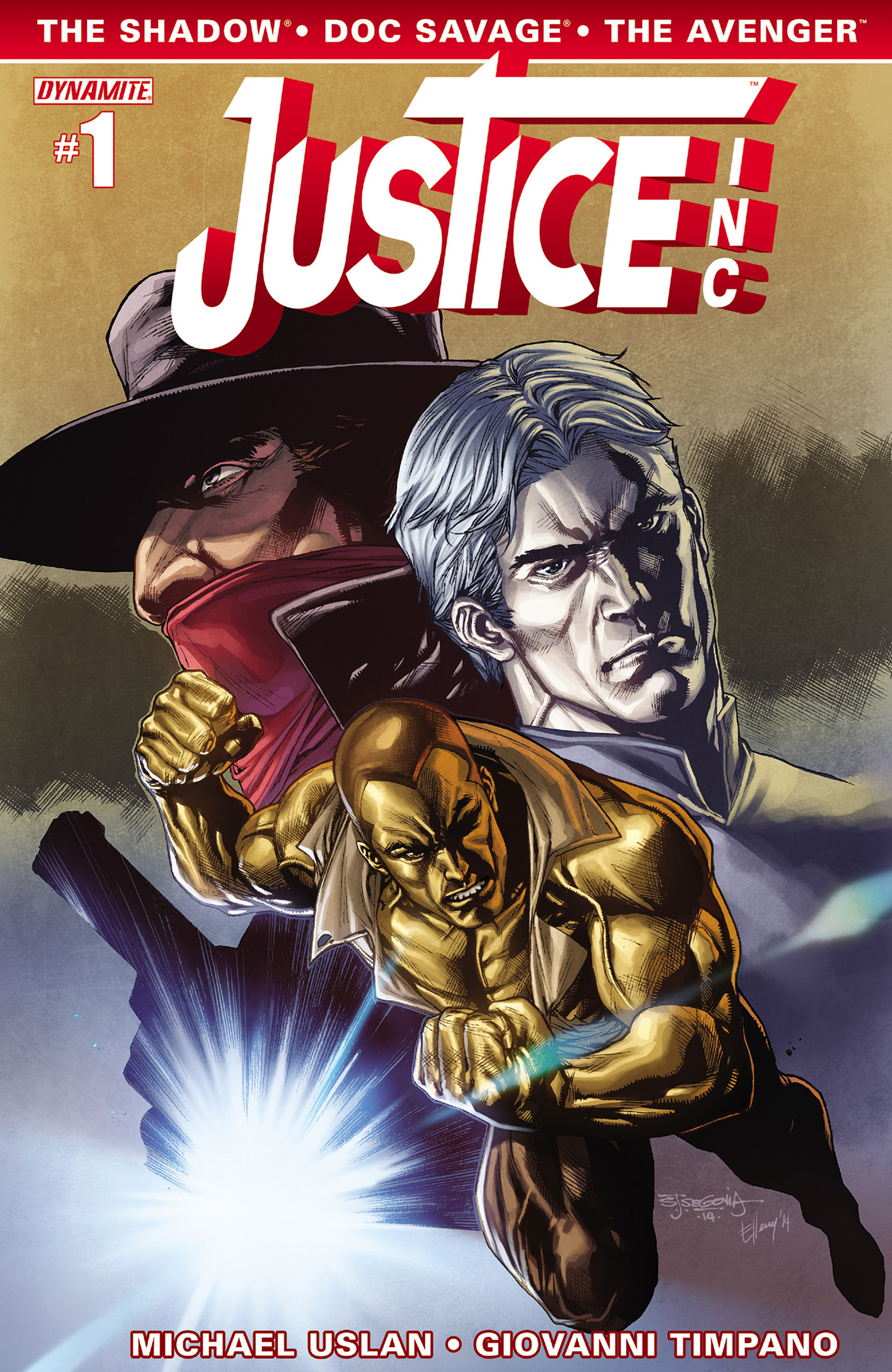 Read online Justice, Inc. comic -  Issue #1 - 5