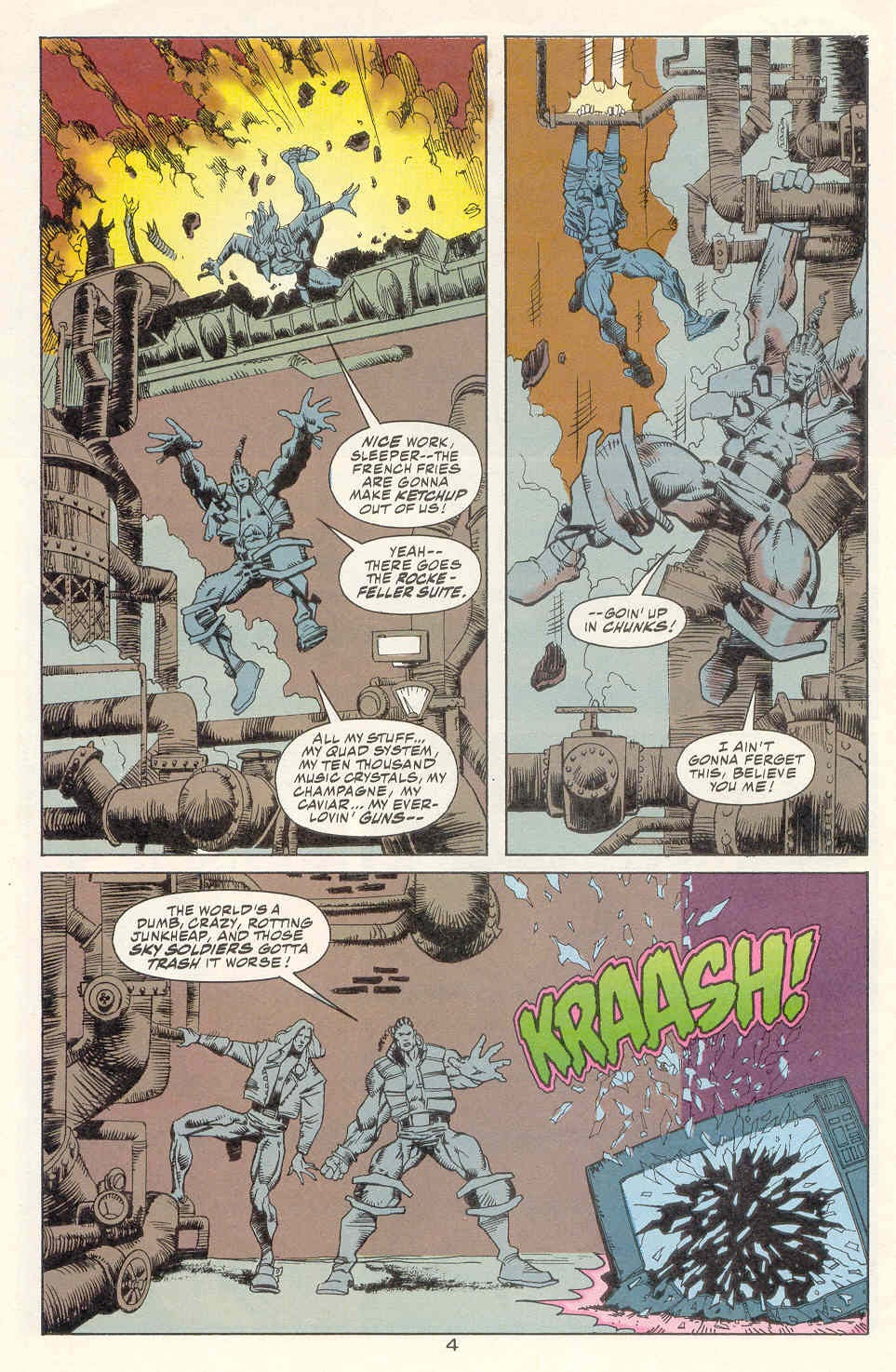 Read online Kamandi: At Earth's End comic -  Issue #2 - 5