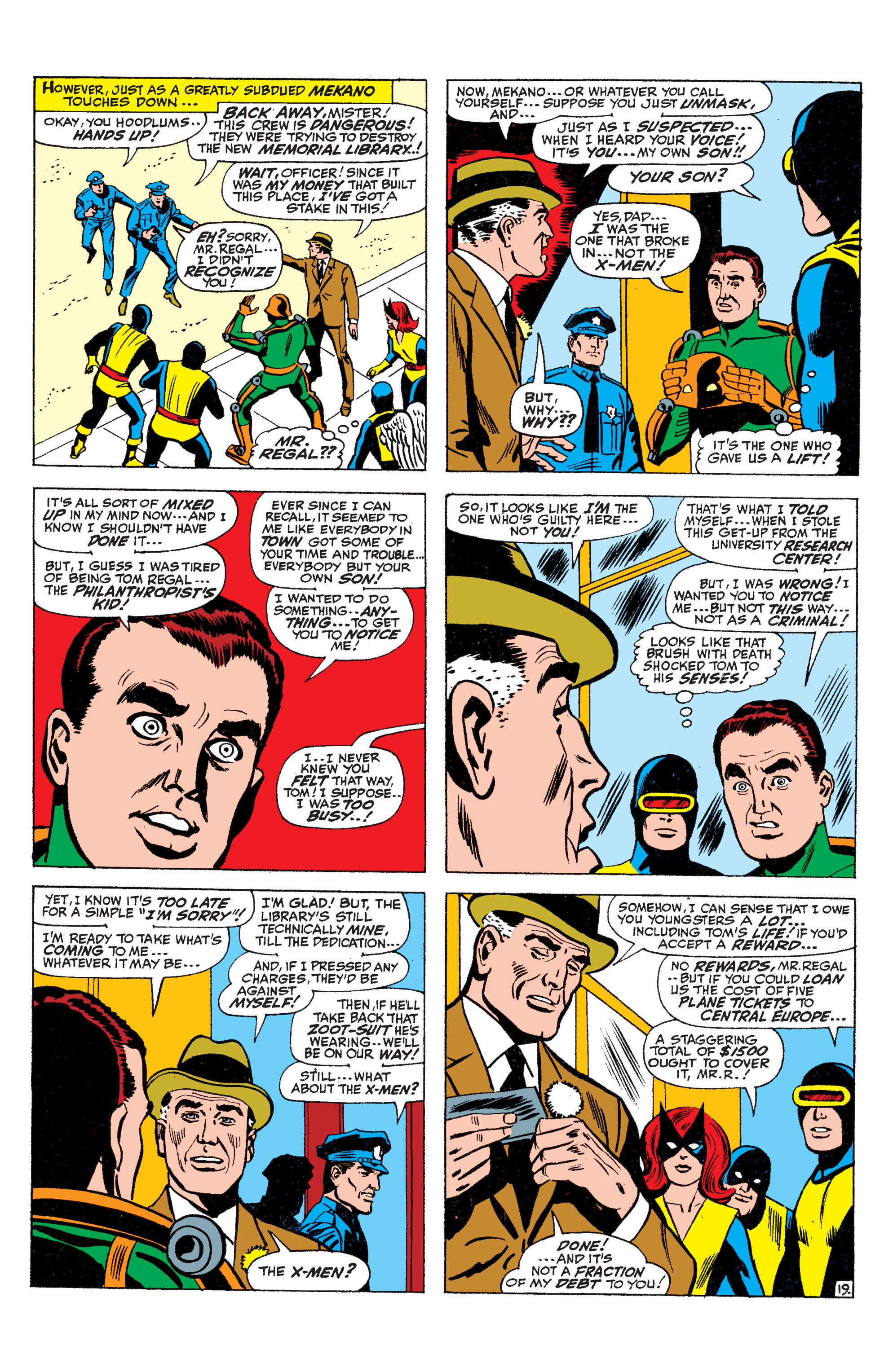 Read online Uncanny X-Men (1963) comic -  Issue #36 - 20