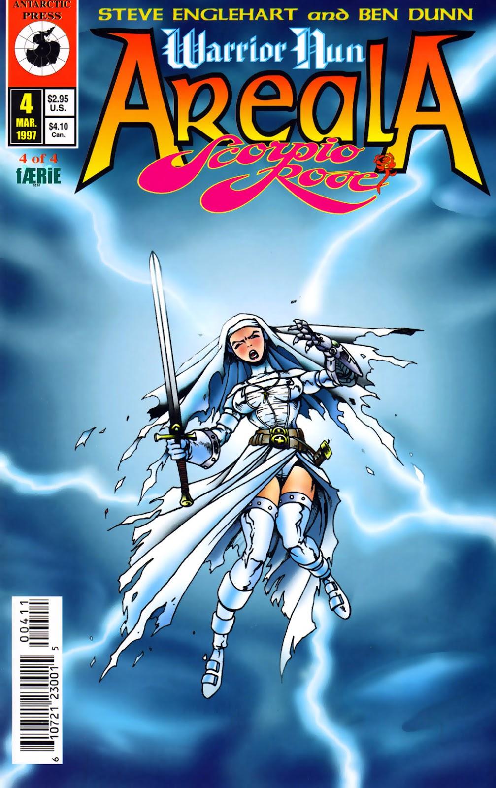 Warrior Nun Areala: Scorpio Rose issue 4 - Page 1