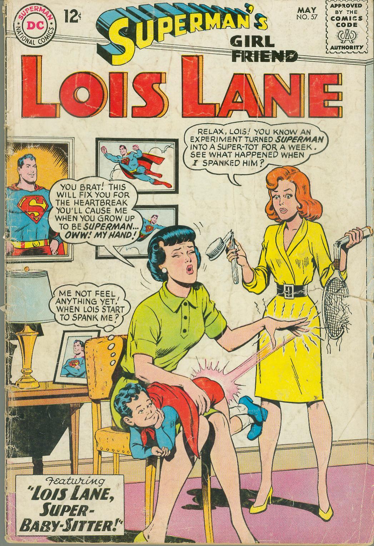 Supermans Girl Friend, Lois Lane 57 Page 1