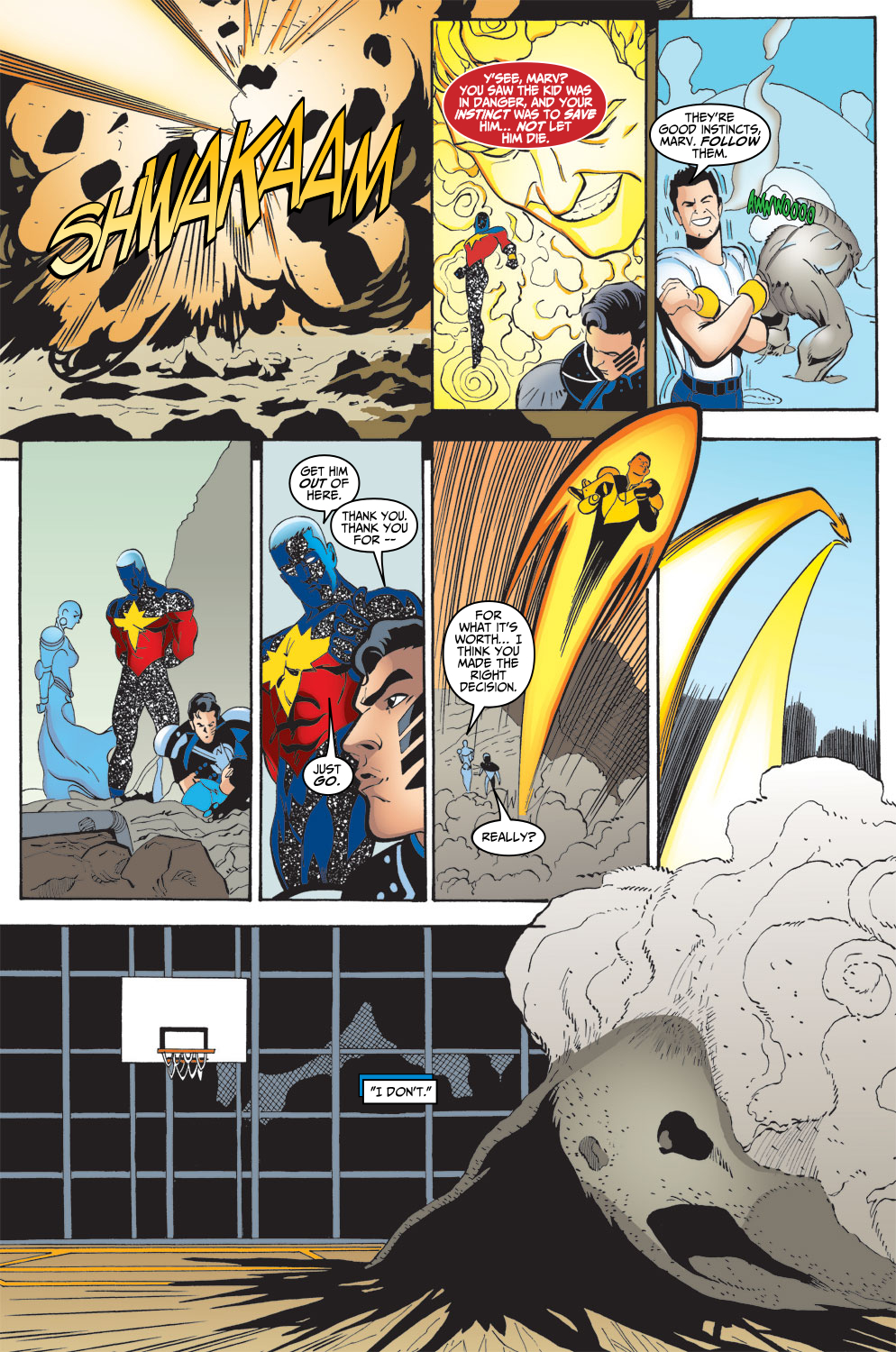 Captain Marvel (1999) 7 Page 23