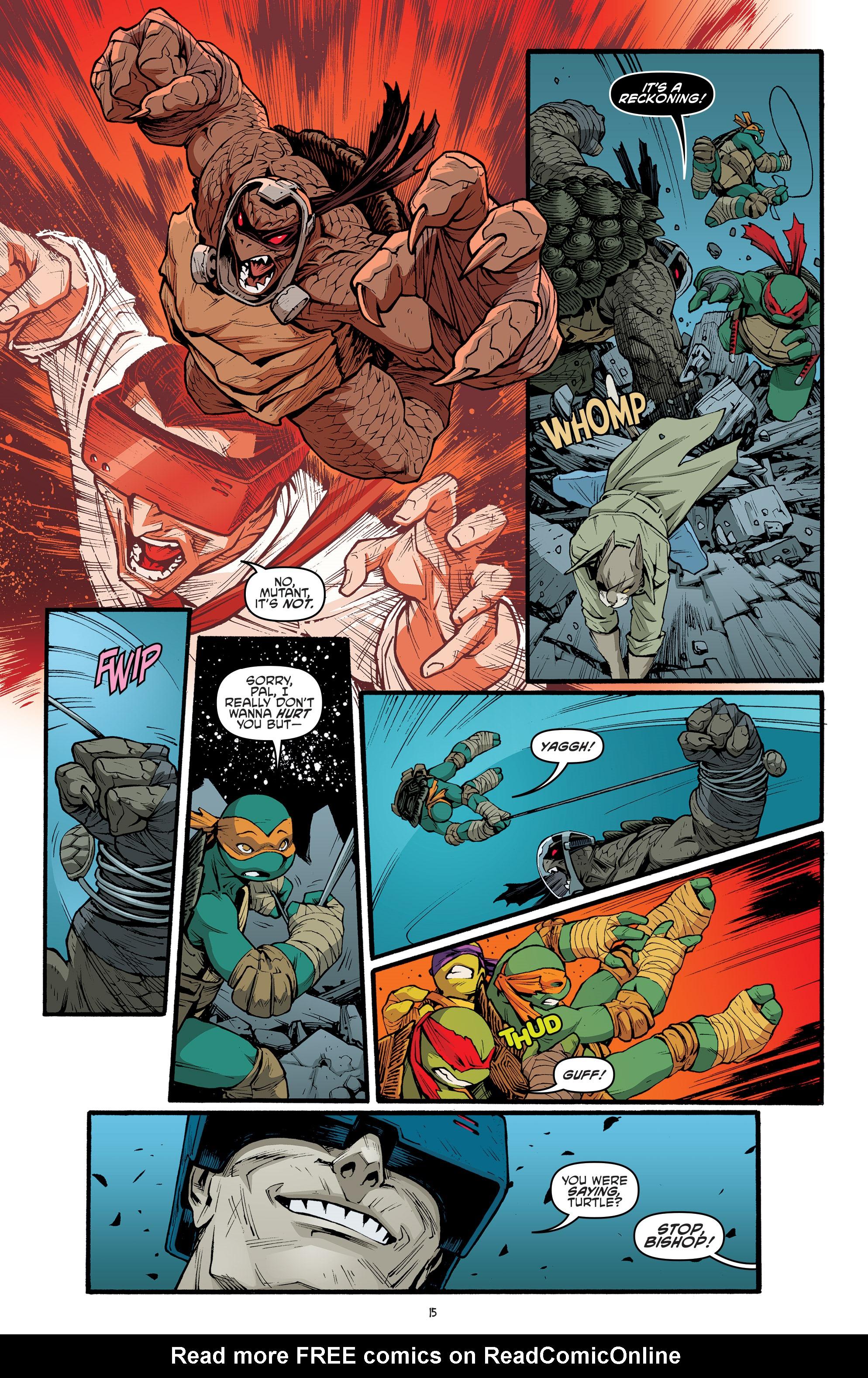 Read online Teenage Mutant Ninja Turtles (2011) comic -  Issue #70 - 17