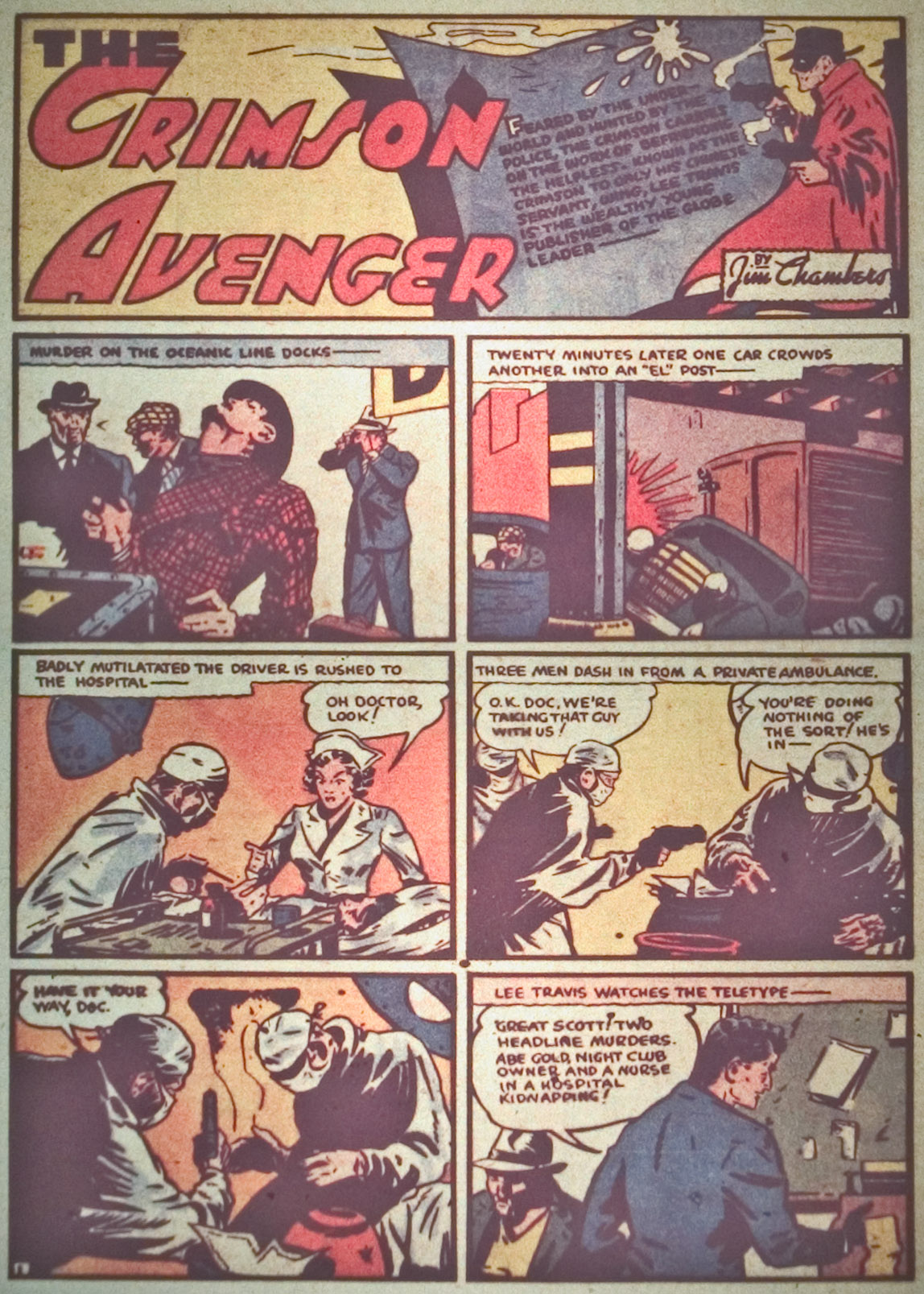 Read online Detective Comics (1937) comic -  Issue #27 - 29