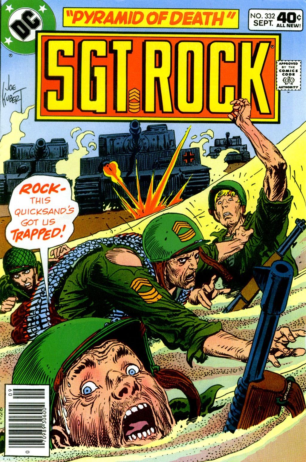 Read online Sgt. Rock comic -  Issue #332 - 1