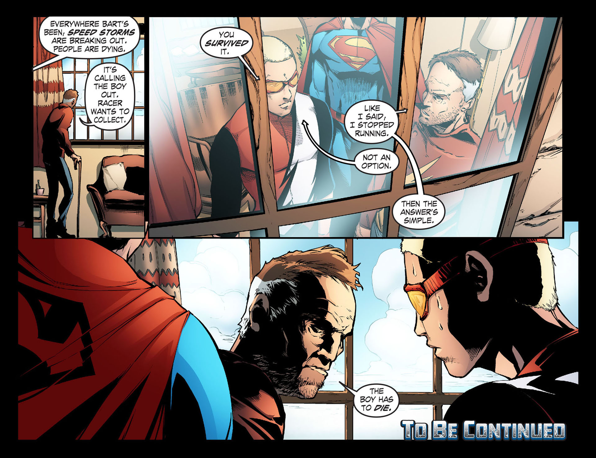 Read online Smallville: Season 11 comic -  Issue #33 - 22