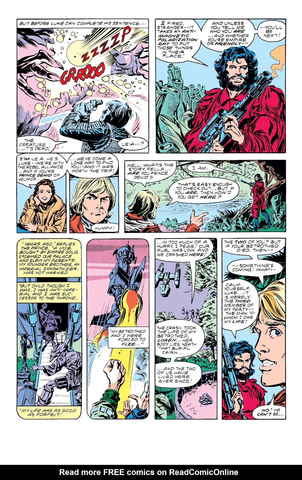Read online Star Wars Legends: The Original Marvel Years - Epic Collection comic -  Issue # TPB 3 (Part 3) - 9