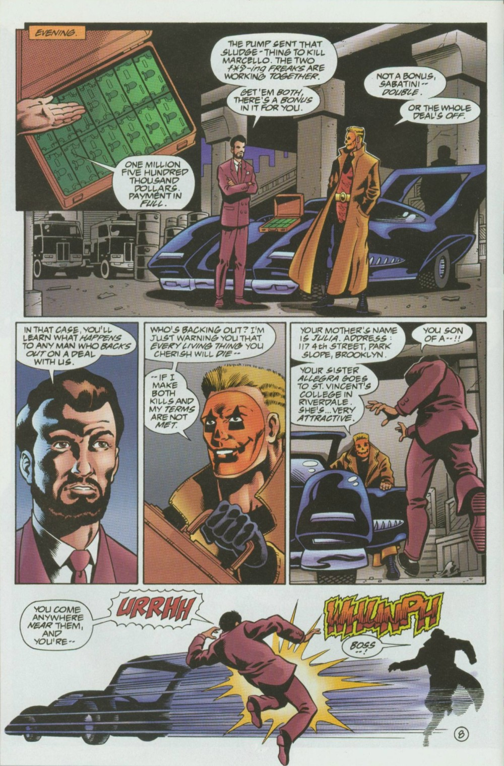 Read online Sludge comic -  Issue #8 - 9