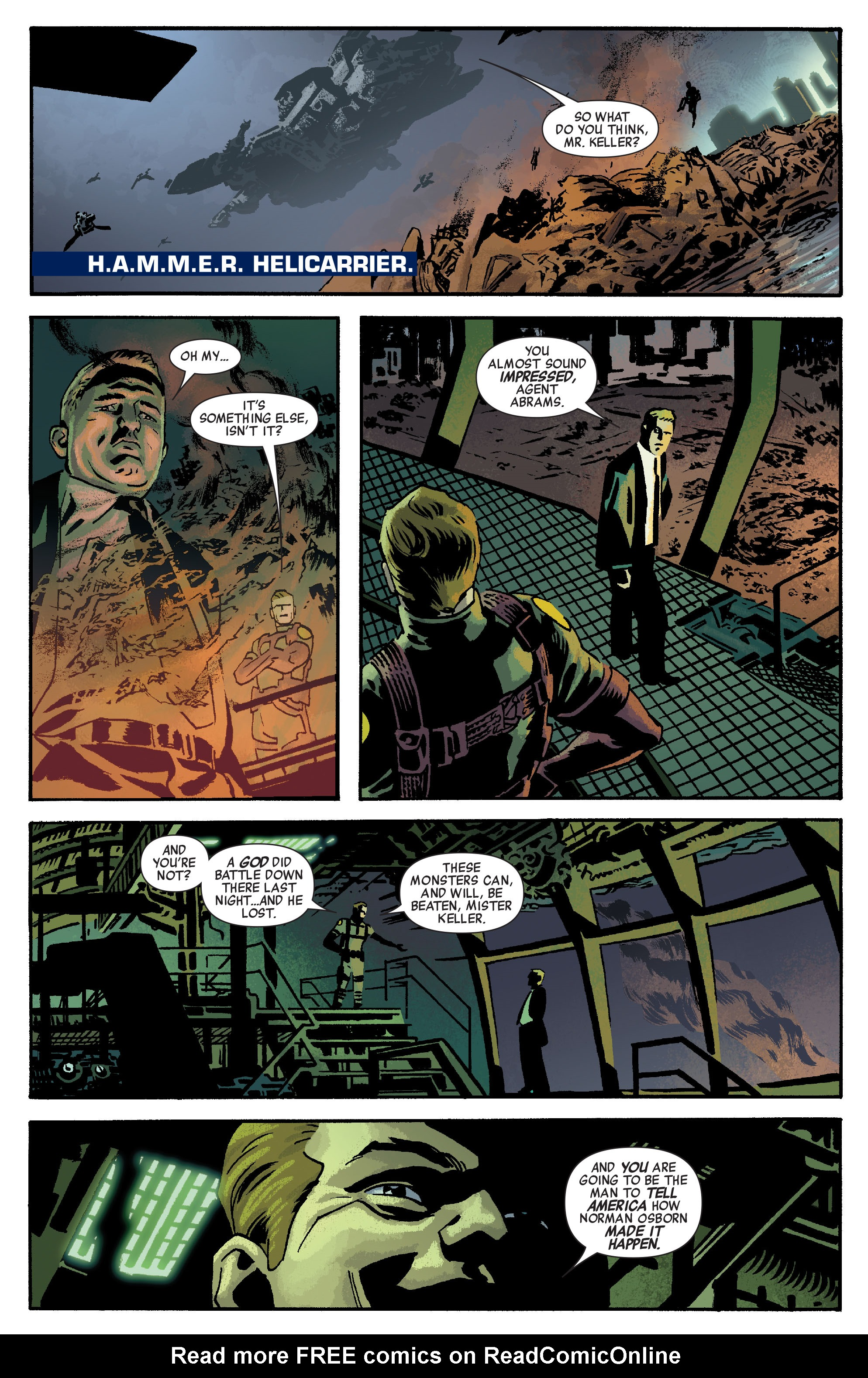 Read online Siege: Embedded comic -  Issue #1 - 17
