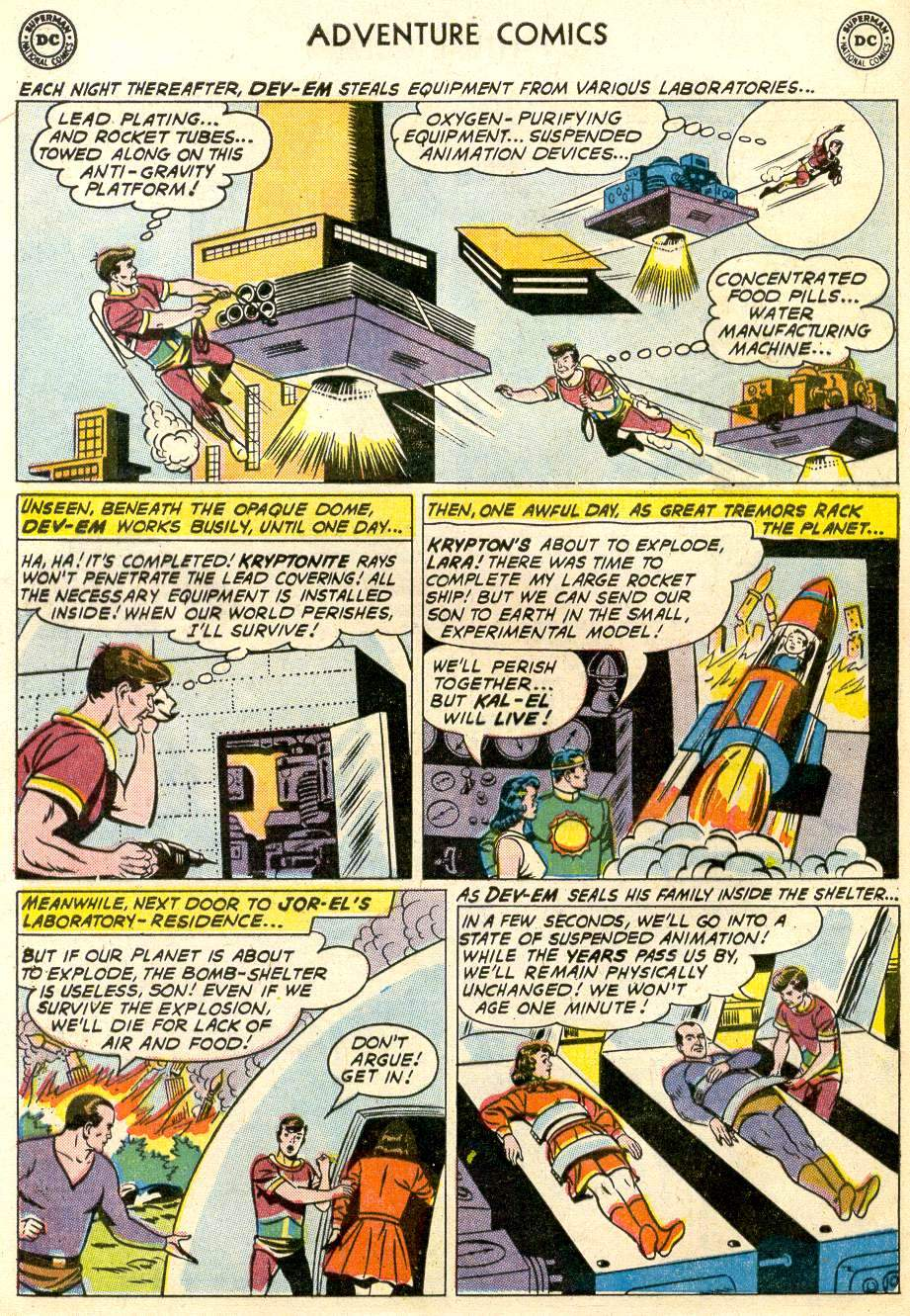 Read online Adventure Comics (1938) comic -  Issue #287 - 12