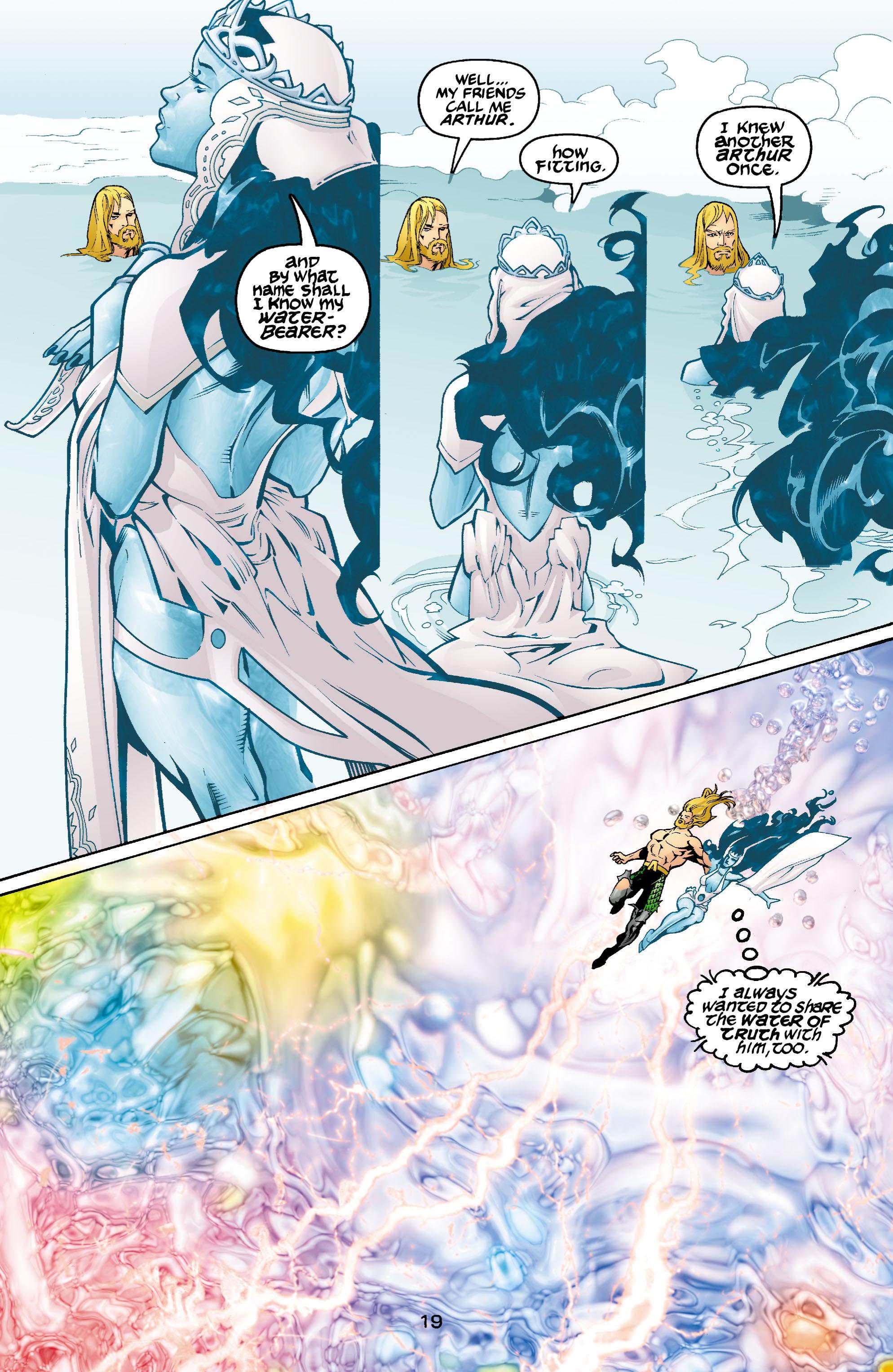 Read online Aquaman (2003) comic -  Issue #1 - 20