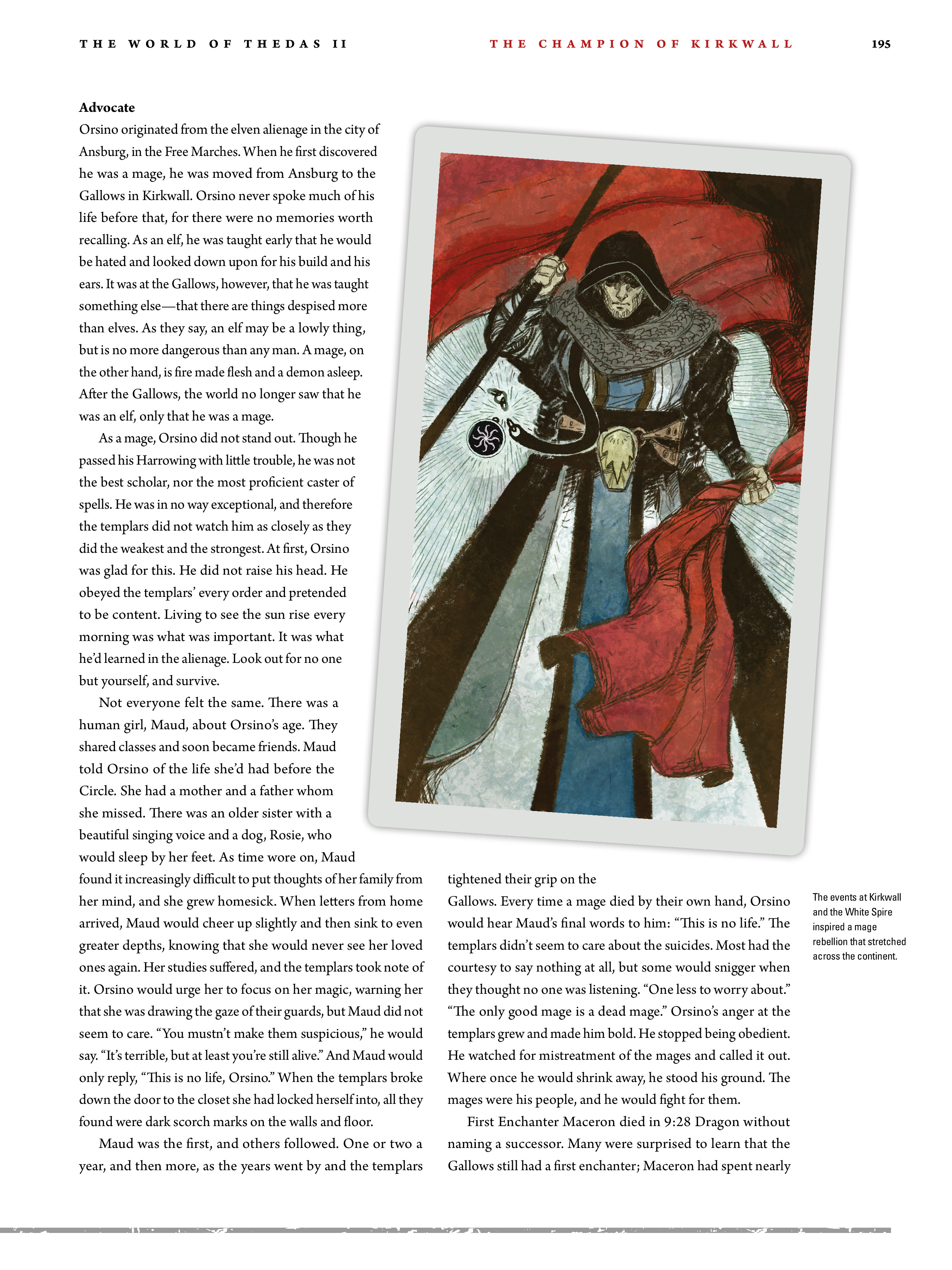 Read online Dragon Age: The World of Thedas comic -  Issue # TPB 2 - 190